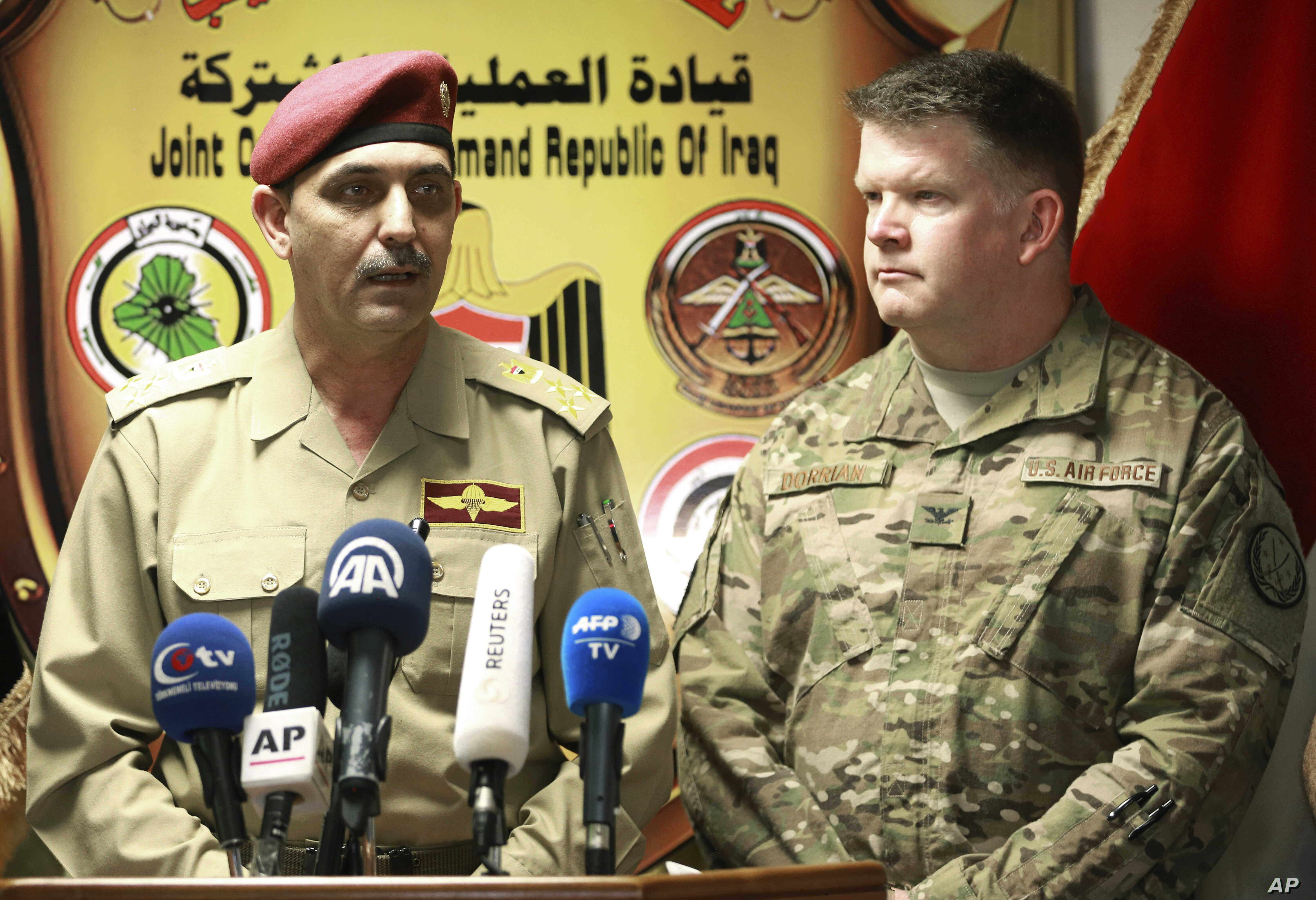 Iraqi Military: Islamic State Only Holds 7 Percent of