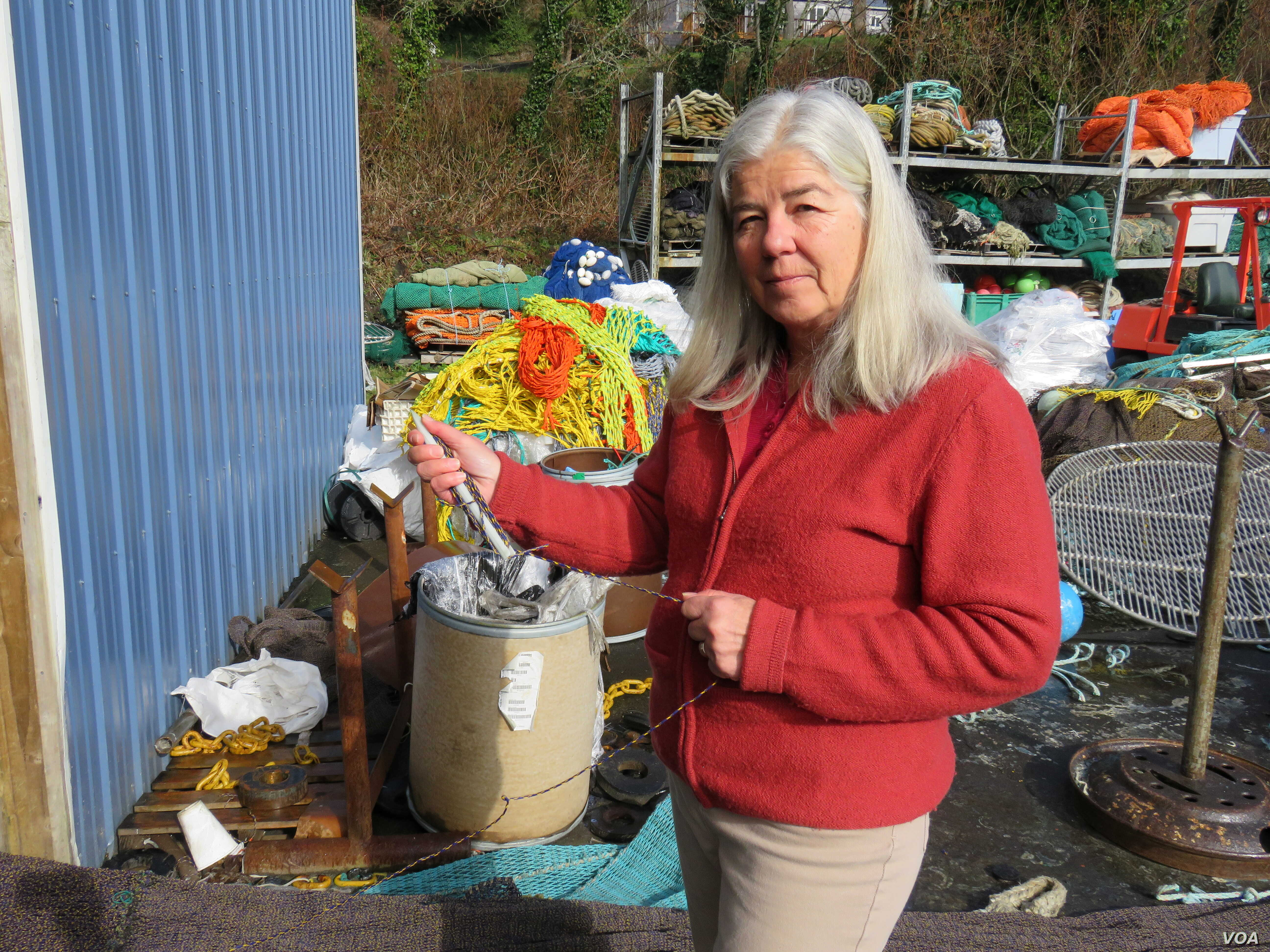 Sara Skamser has worked on and around fishing boats most of her adult life.
