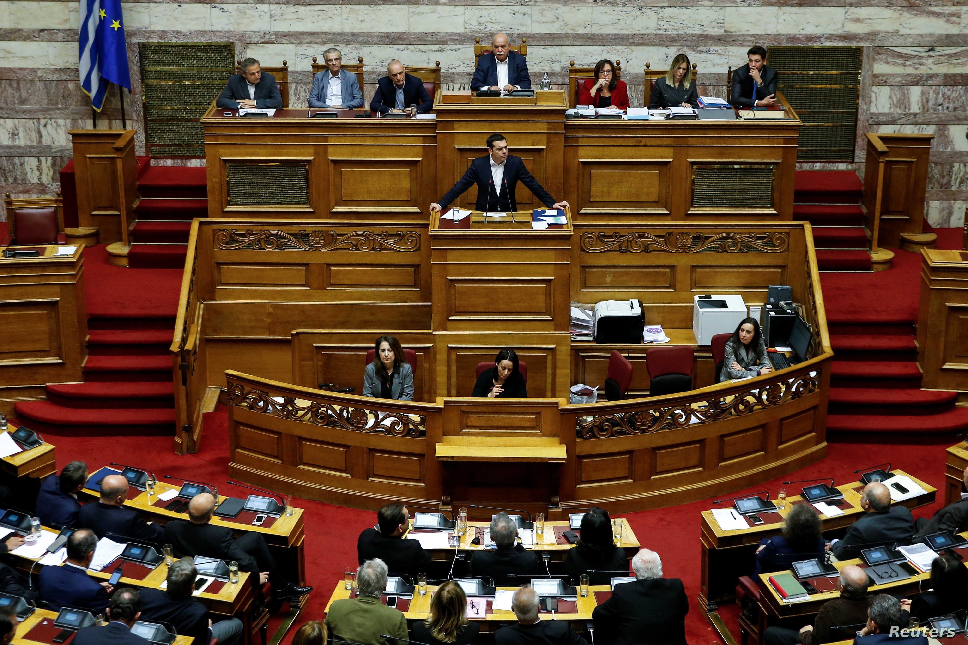 Greek Lawmakers Approve New Budget — With More Austerity