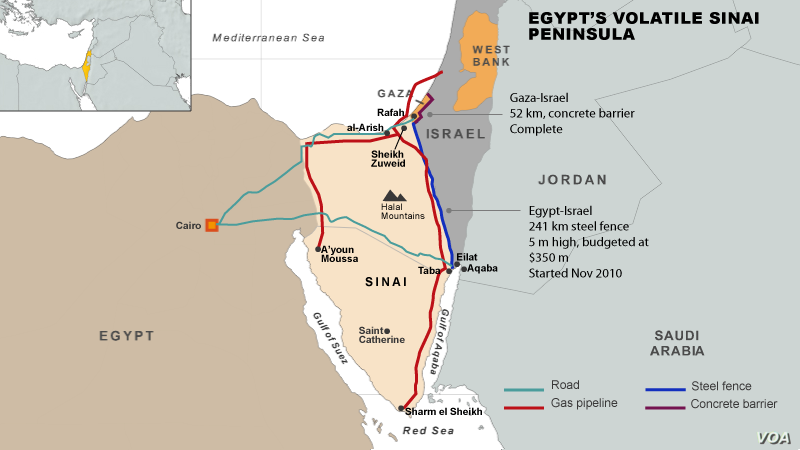 Sinai: Egypt's Growing Security Threat   Voice of America - English