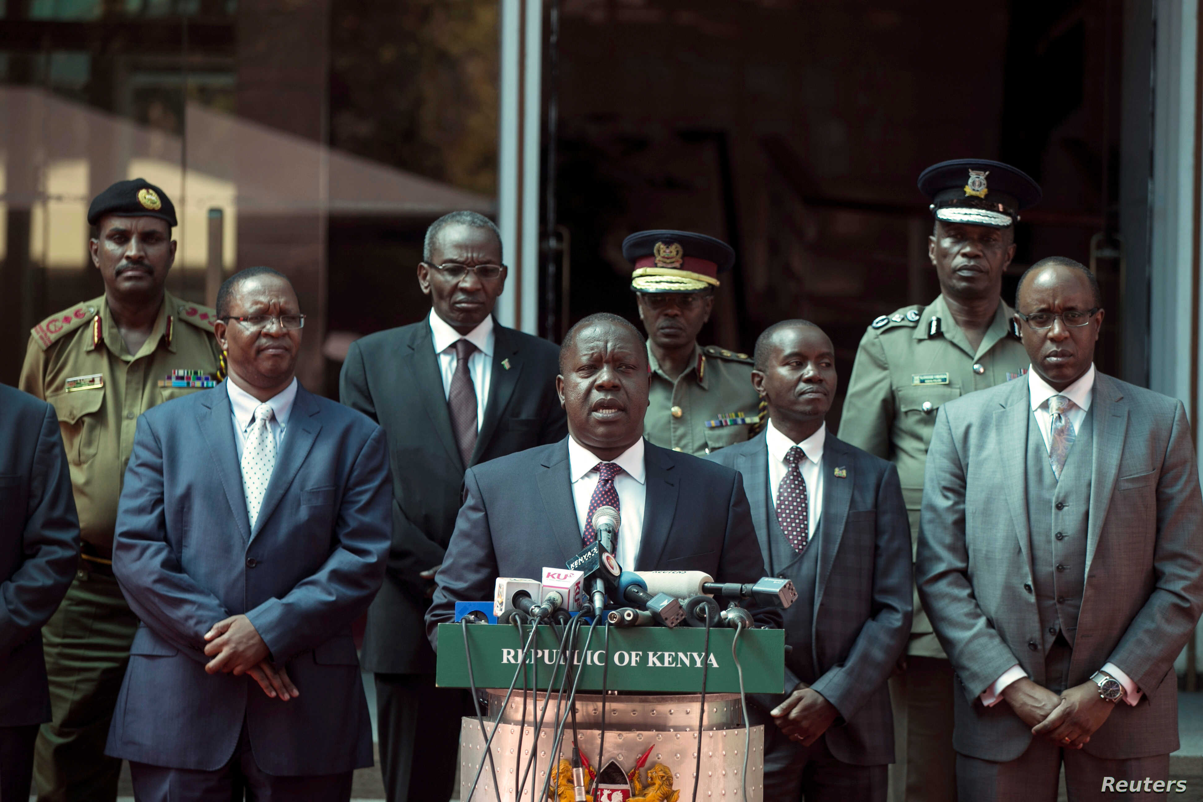 Kenyan Government Warns of Arrests Over Odinga's 'Inauguration