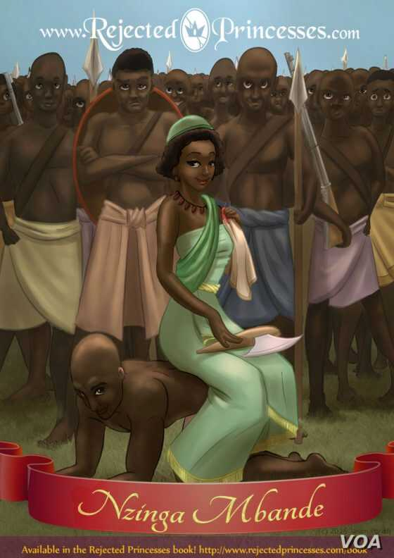 In a meeting with the Portuguese governor, when he had a chair and she did not, Nzinga Mbande had one of her assistants serve as a chair for her, to establish her equality with the Portuguese crown.