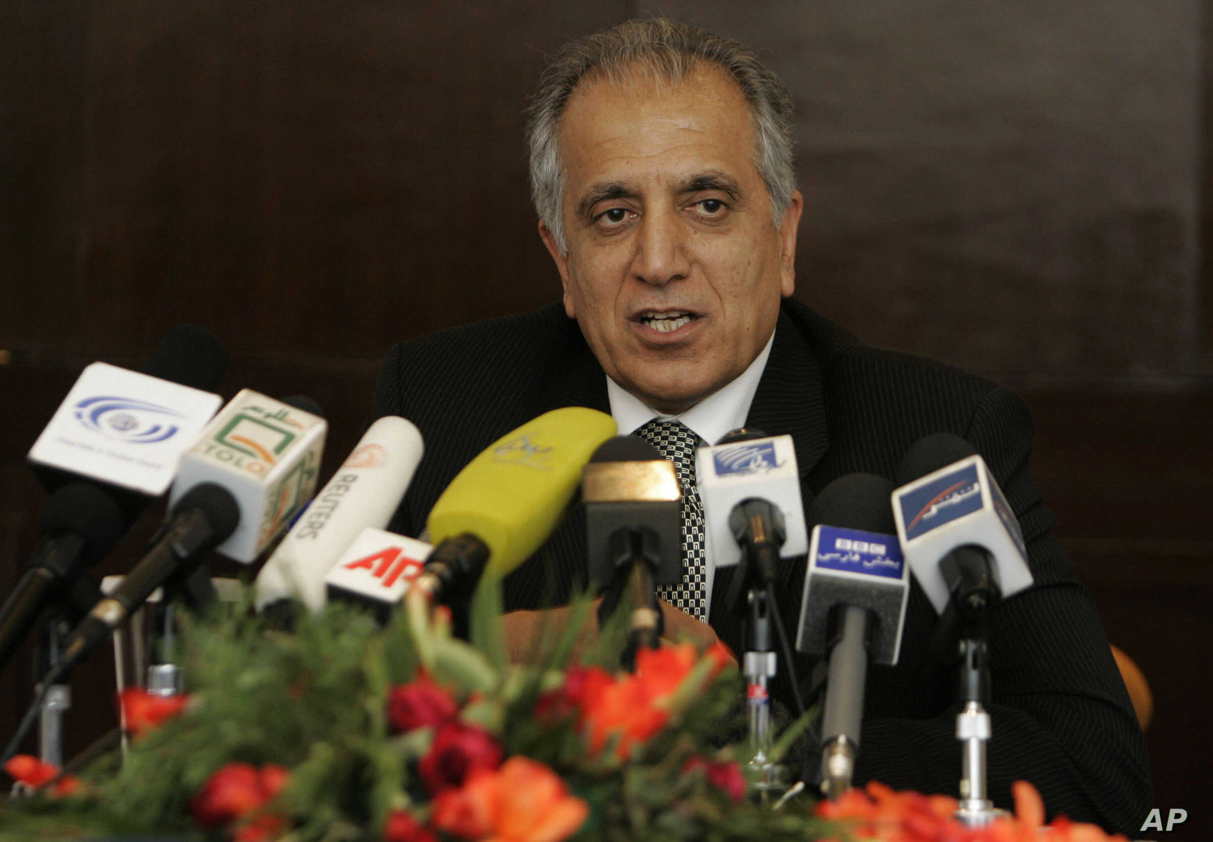 FILE - Zalmay Khalilzad, seen in this March 2009 file photo, has been named a U.S. special envoy to Afghanistan.