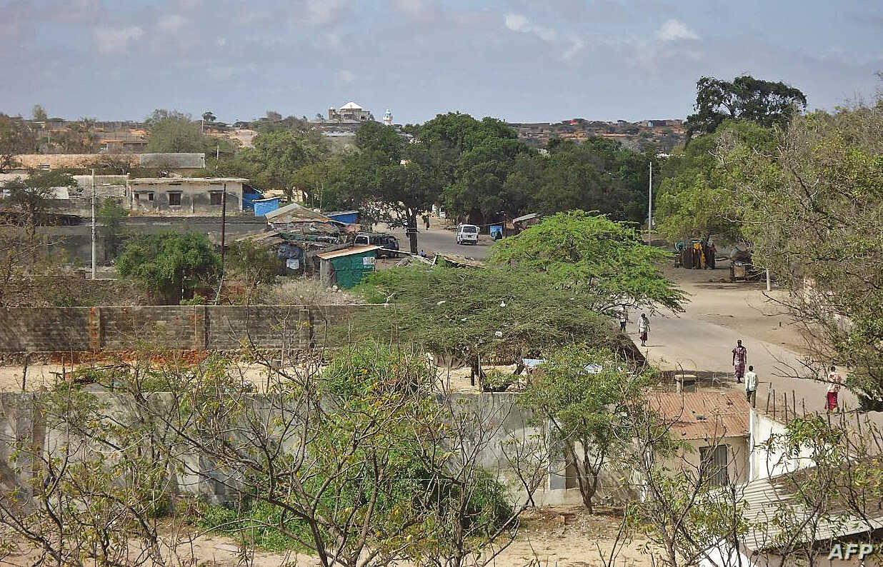 Picture of Kismayo, Somalia, taken September 28, 2012.