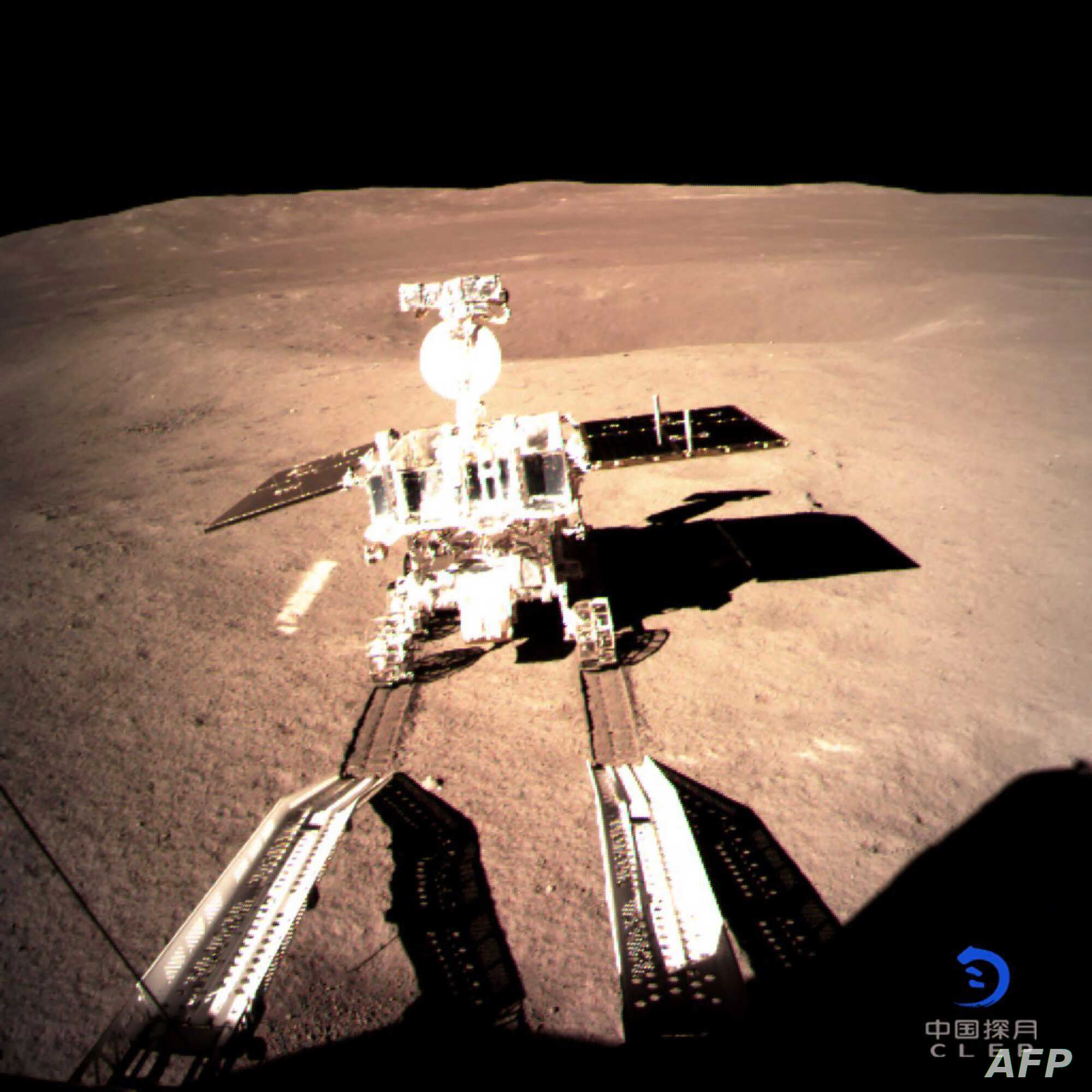 Chinese Rover Making Tracks on Dark Side of the Moon | Voice