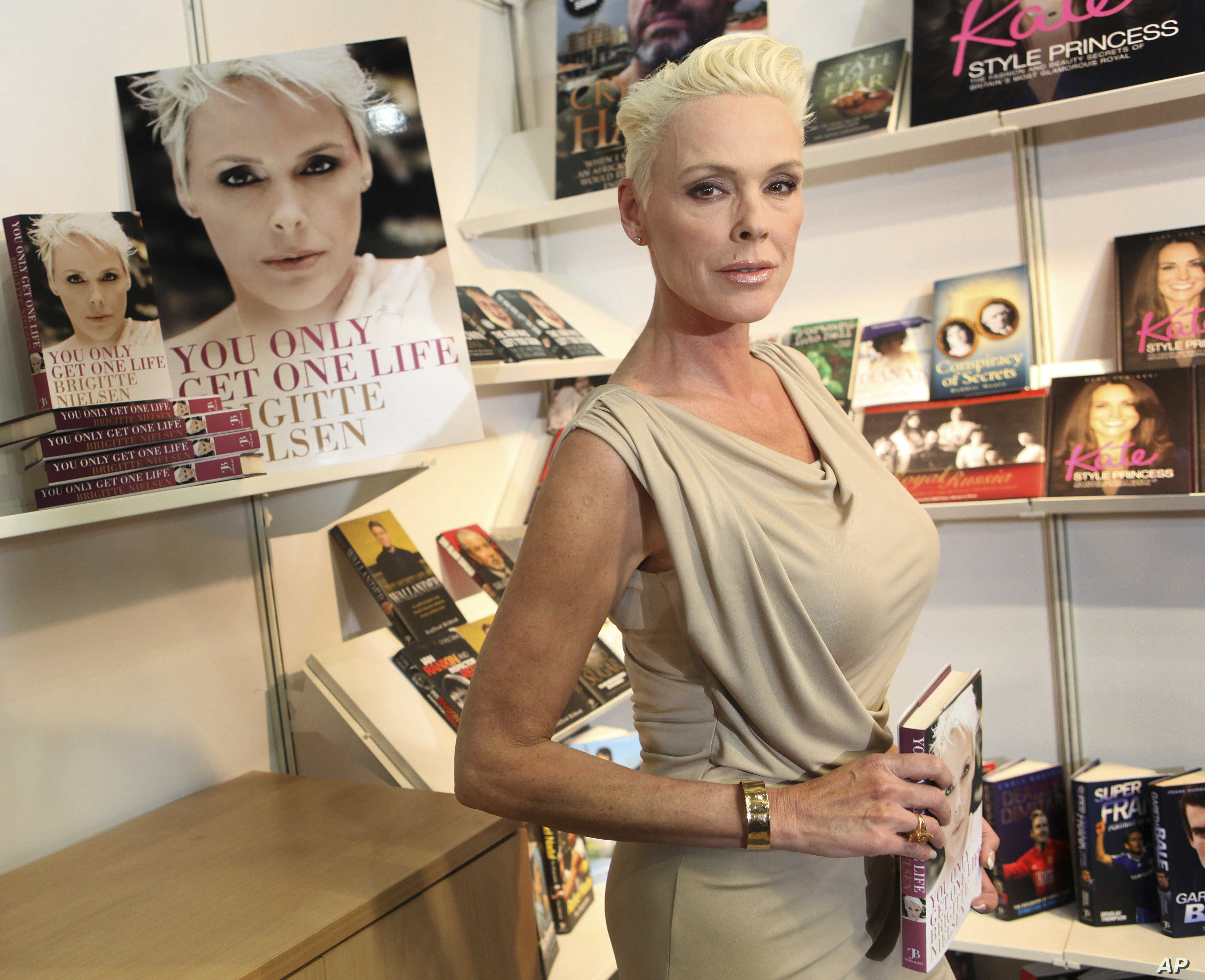 New Baby For Brigitte Nielsen Age 54 Opens Debate On Older