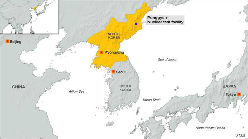 Punggye-ri, North Korea nuclear test site