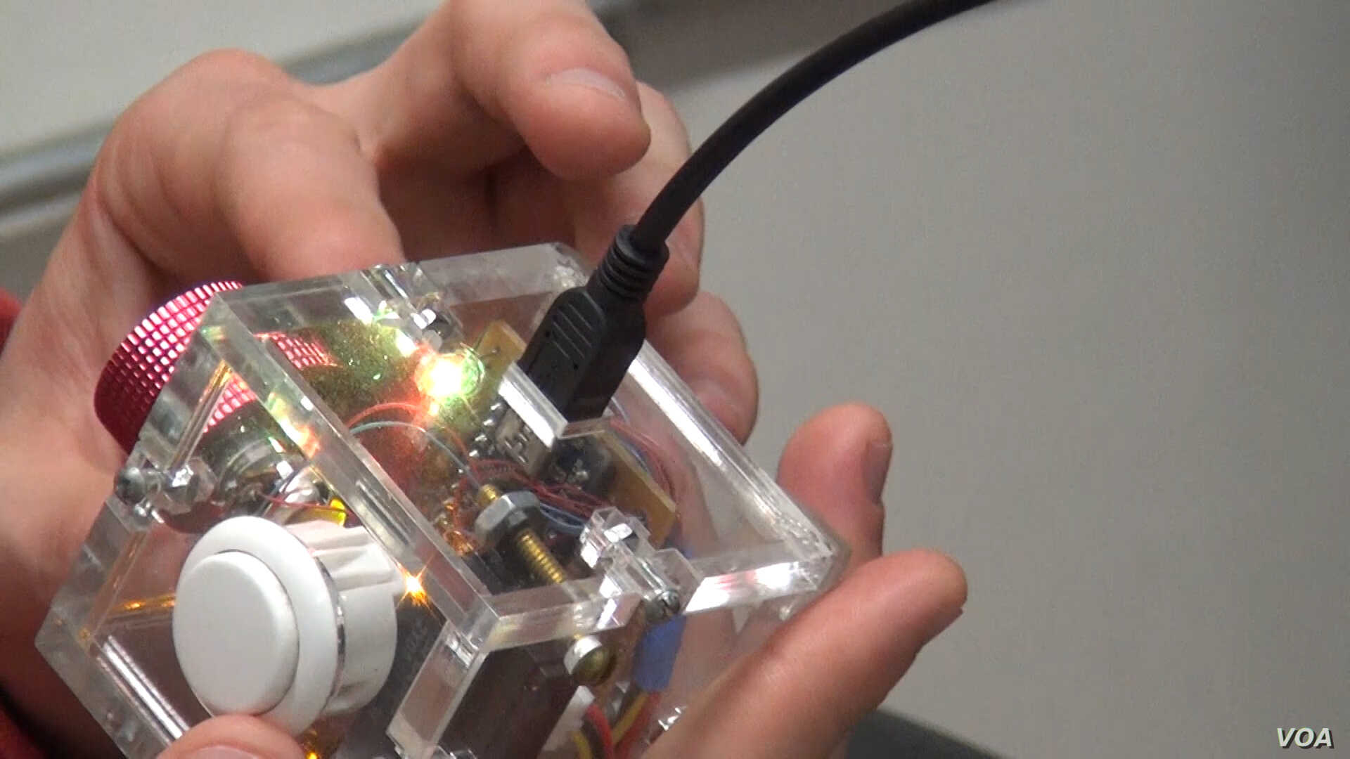 Hackers can create intricate electronic devices with the tools at a hacker space.