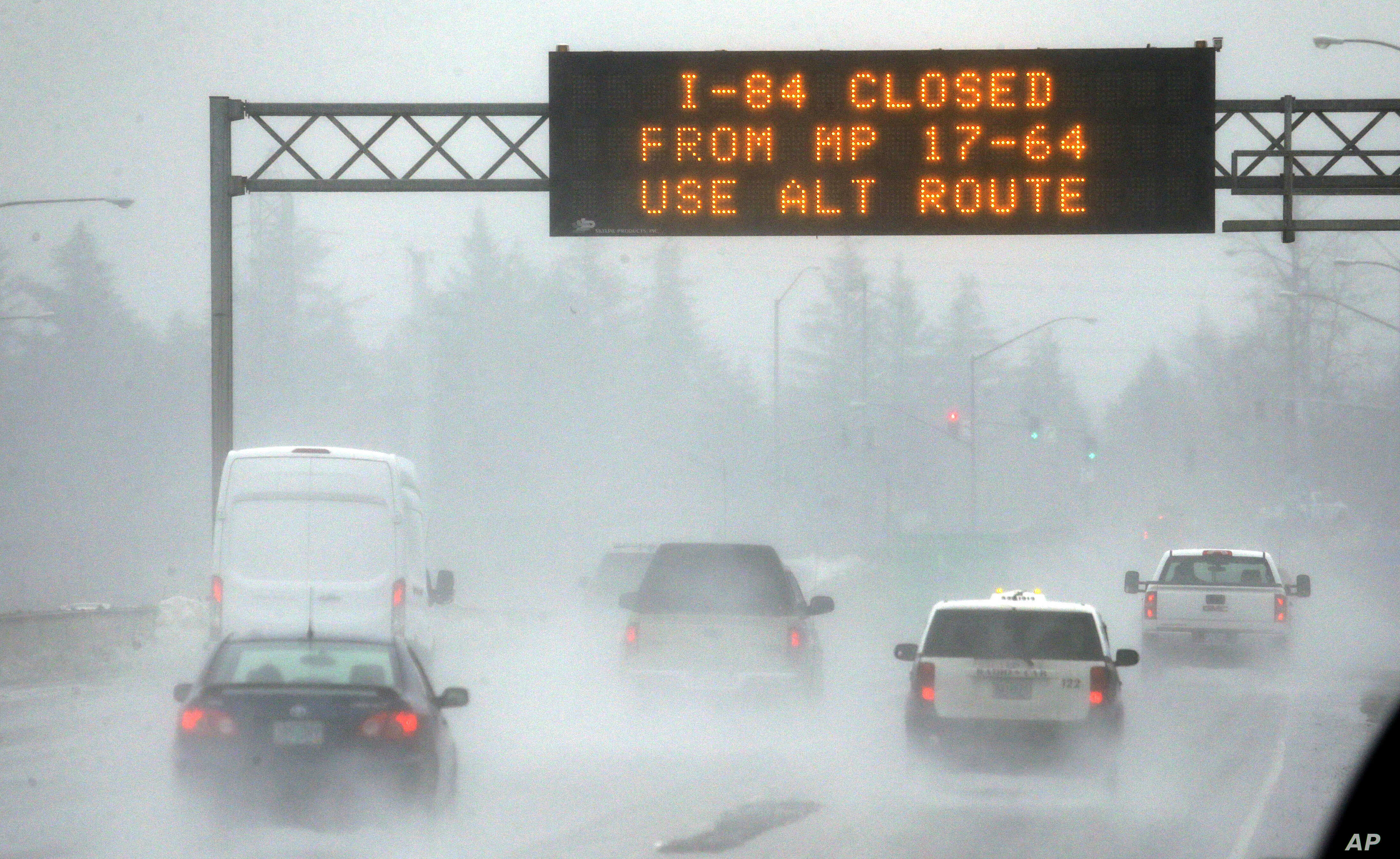 Ice Storm Grips Parts Of Oregon Washington State Voice Of America