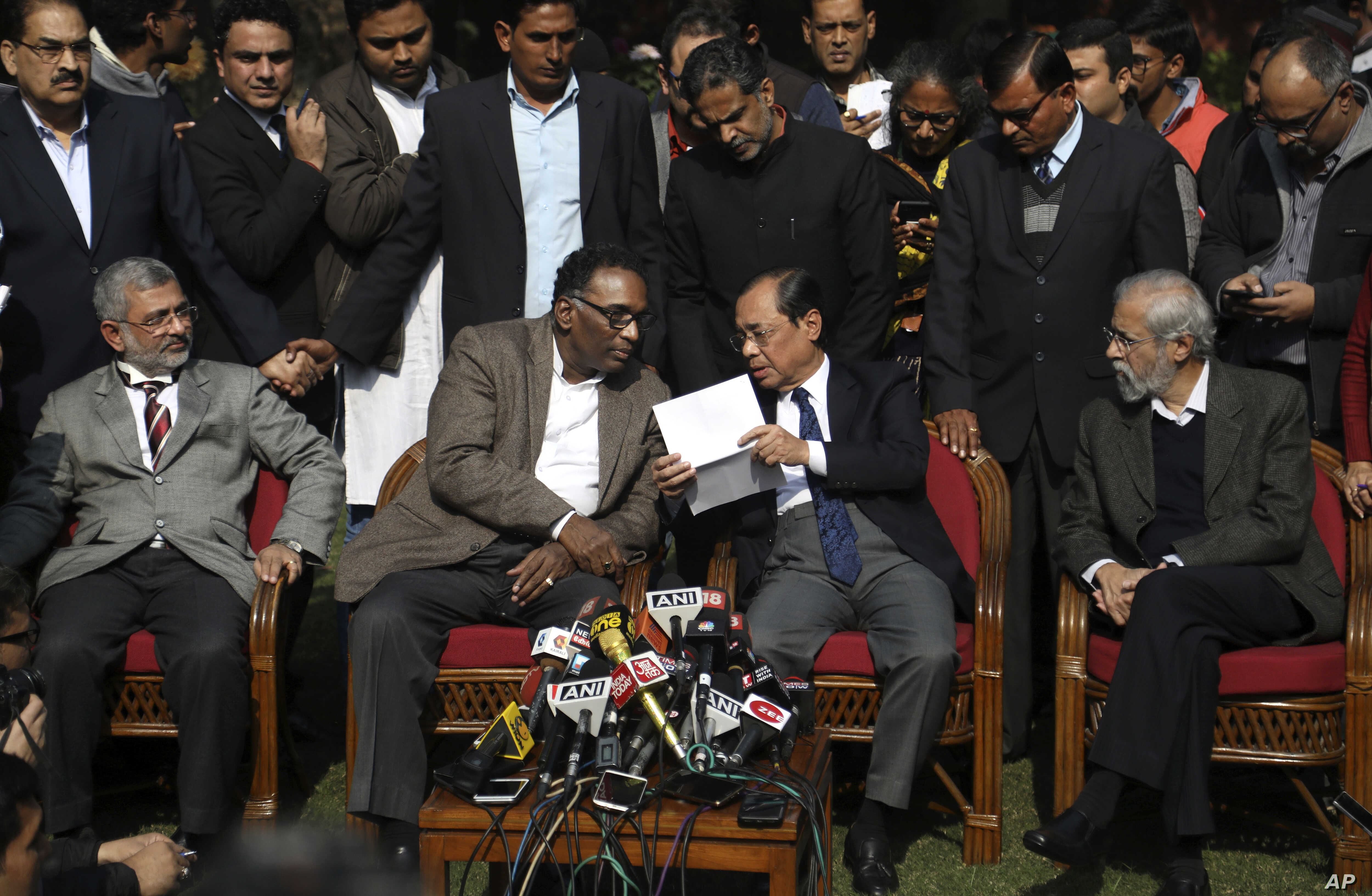 India's Top Court Faces Credibility Crisis   Voice of America - English