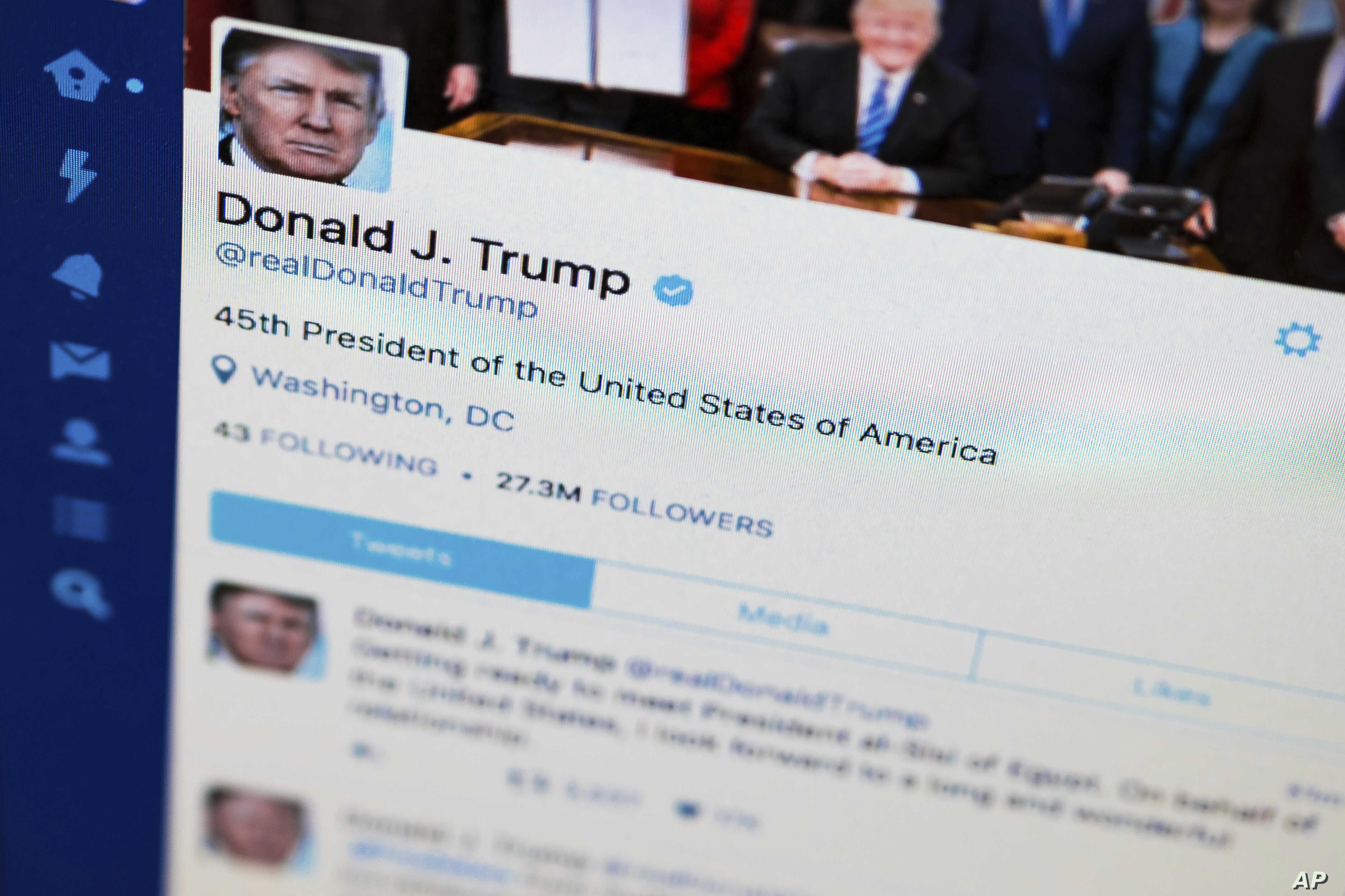 Most Retweeted Trump Postings Reflect Highs, Lows of President's