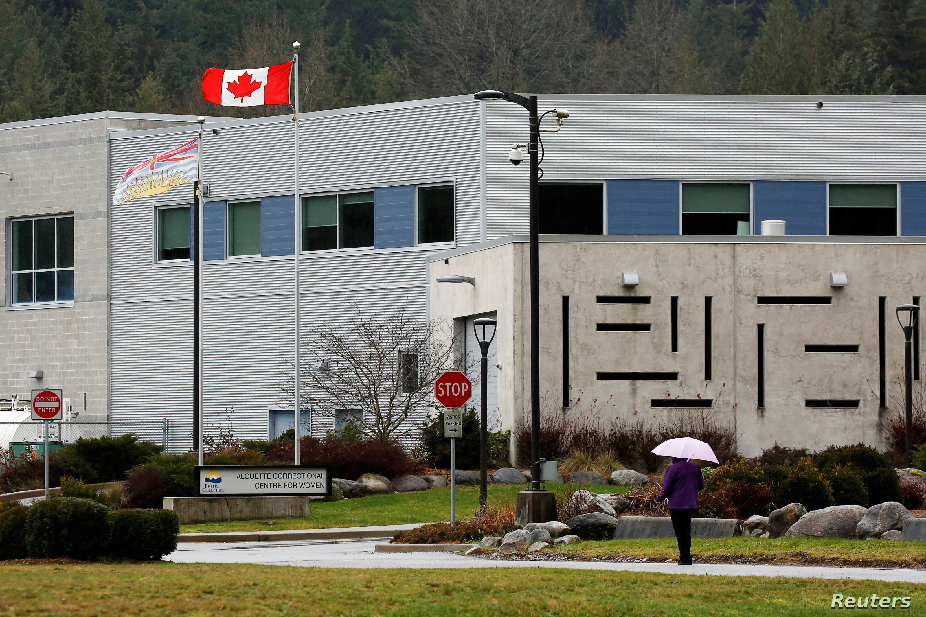 The exterior of the Alouette Correctional Center for Women, where Huawei CFO Meng Wanzhou was being held on an extradition warrant, is seen in Maple Ridge, British Columbia, Canada, Dec. 8, 2018.