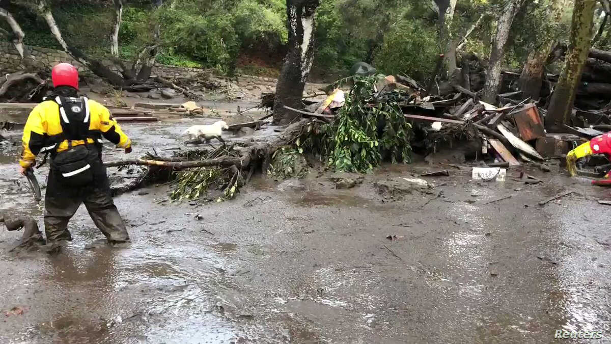 At Least 17 Dead in California Mudslides | Voice of America