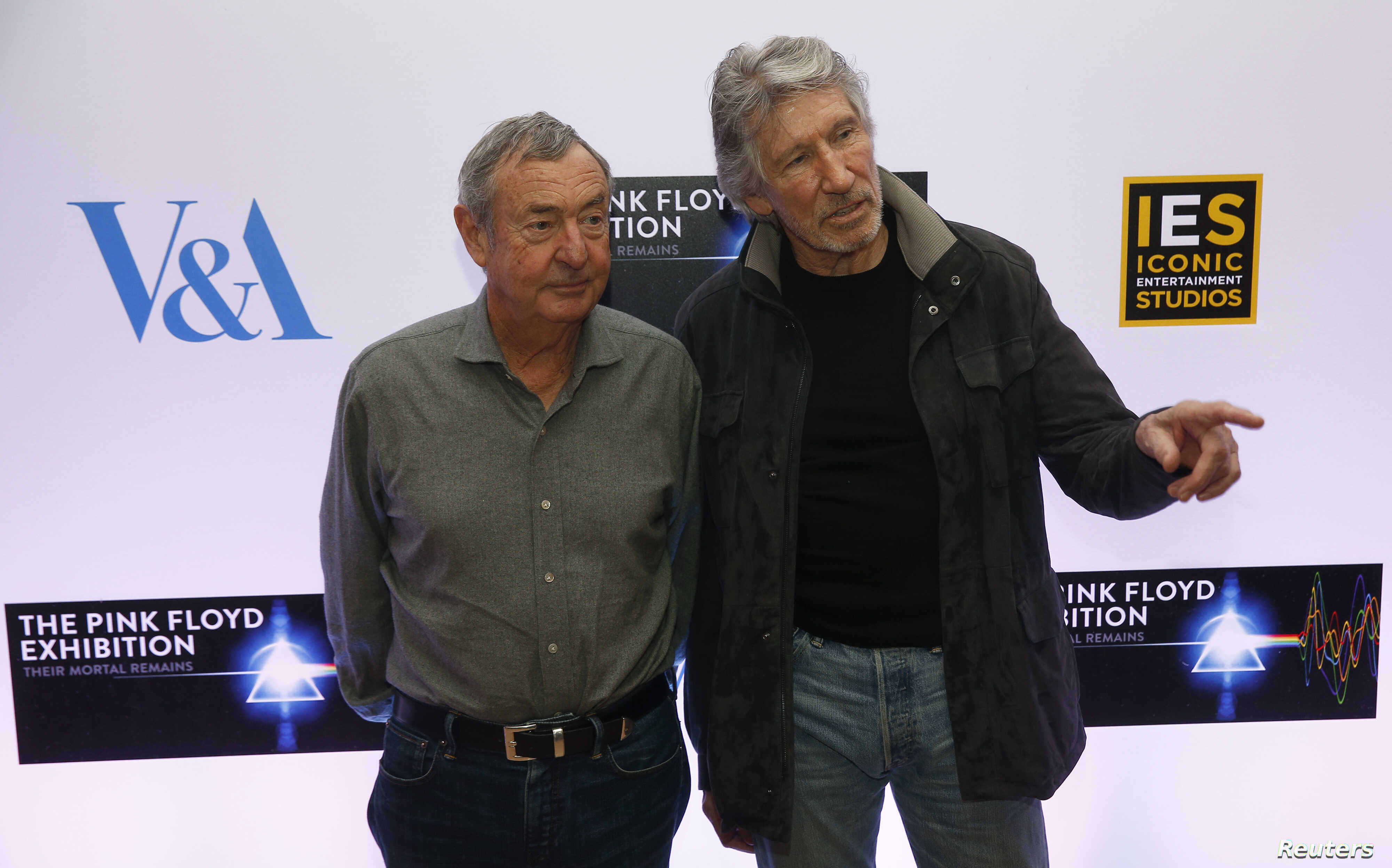 ef0dfd3b Pink Floyd co-founders Roger Waters and Nick Mason hope an exhibition in  May documenting the rock band's 50 years in music will give fans a sense of  their ...