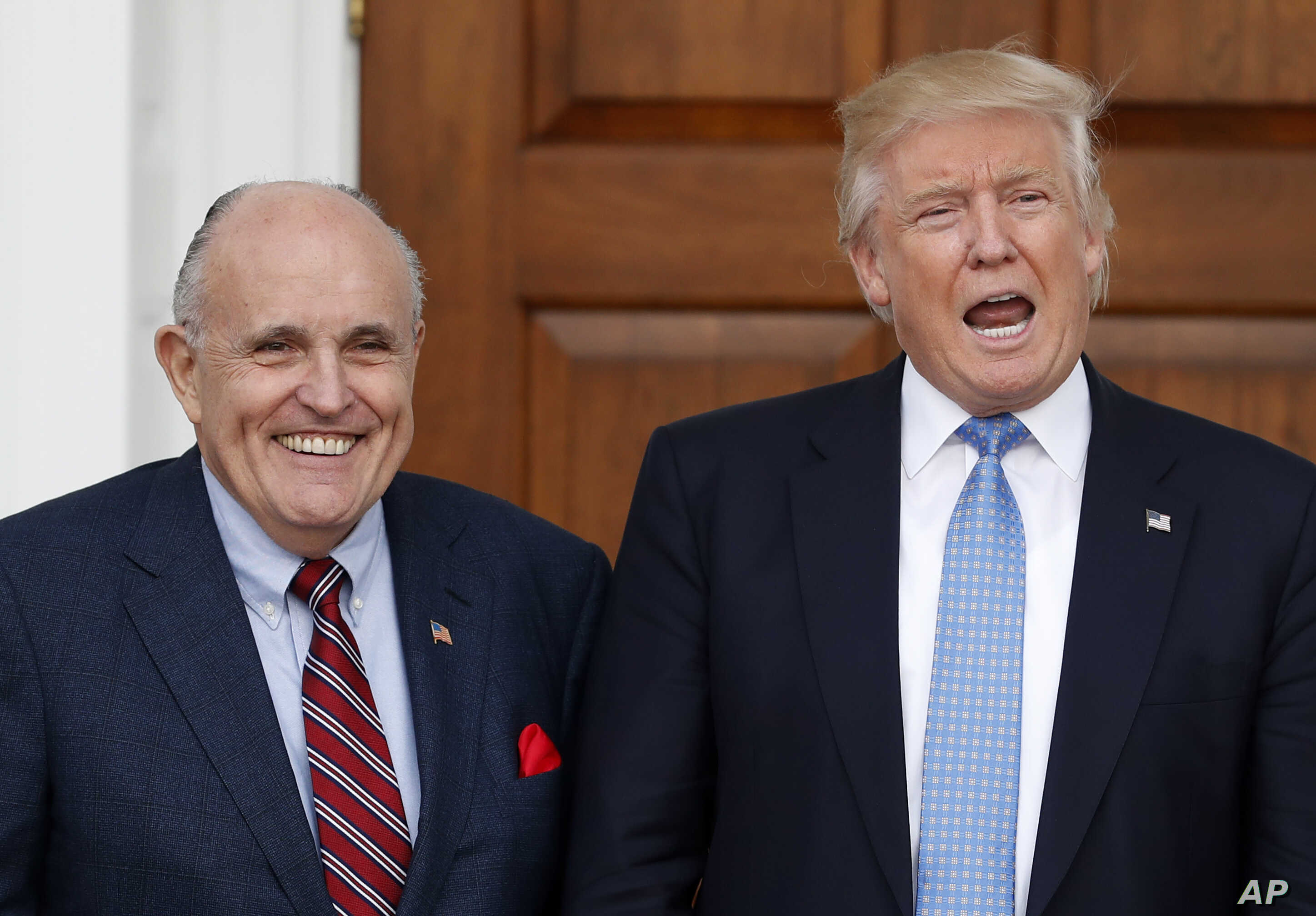 Image result for Does Rudy Giuliani Have Security Clearance?