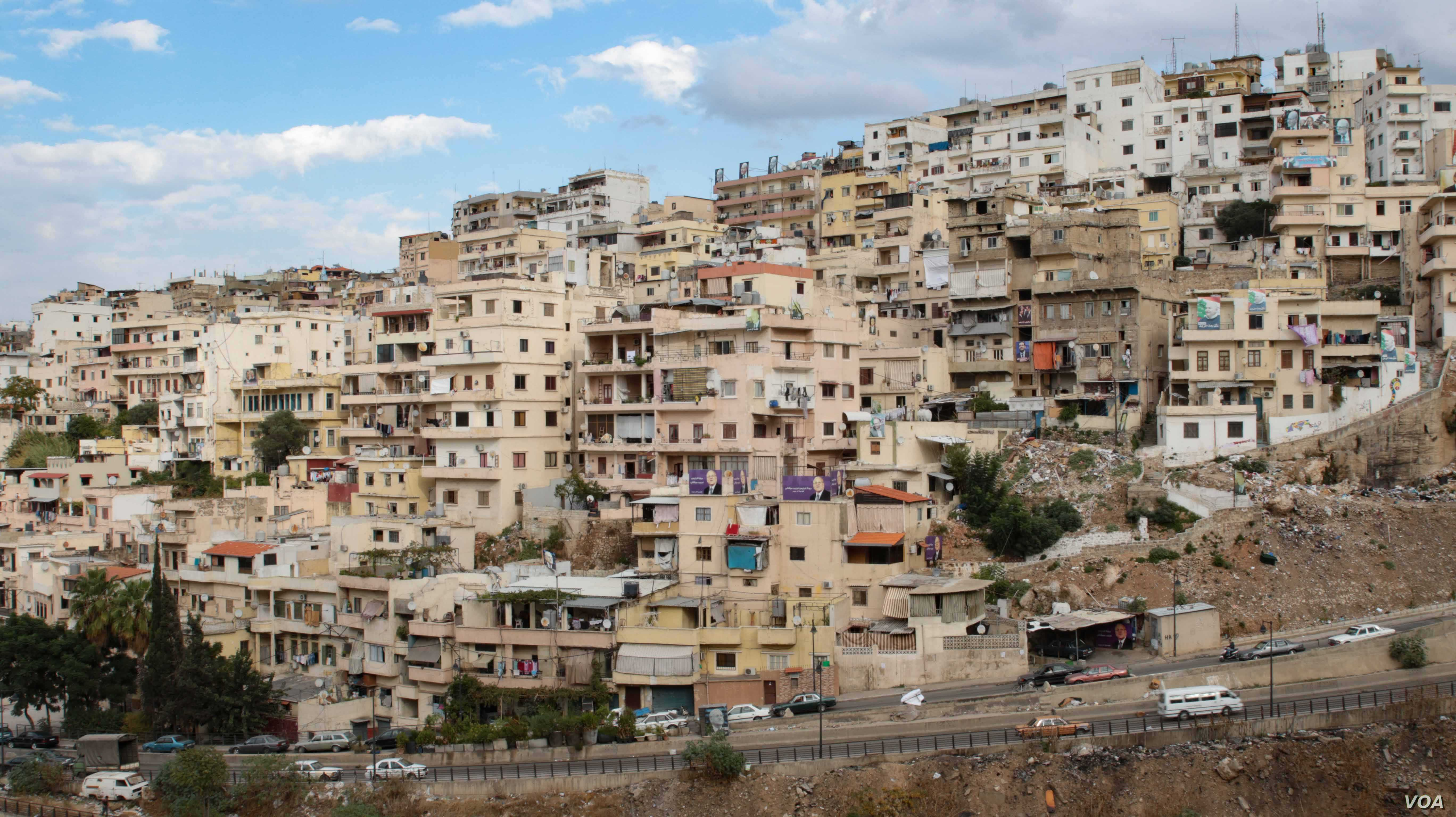 The neighborhood of Bab al-Tabbaneh in Tripoli, Lebanon, where Jibril Latach lives. Though relatively peaceful in the last couple of years, it has been the scene of intense sectarian conflict with neighboring Jabal Mohsen.