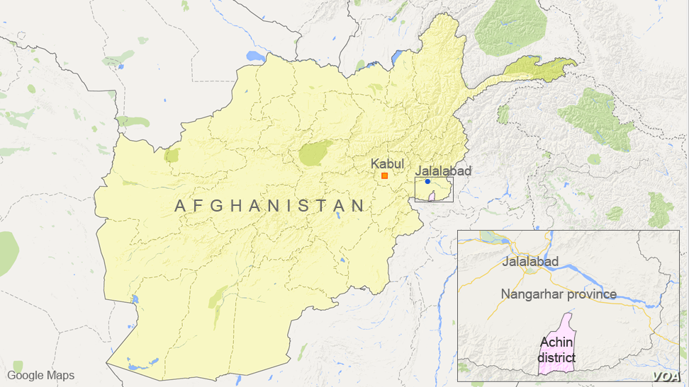 Achin district, in Nangarhar province, Afghanistan