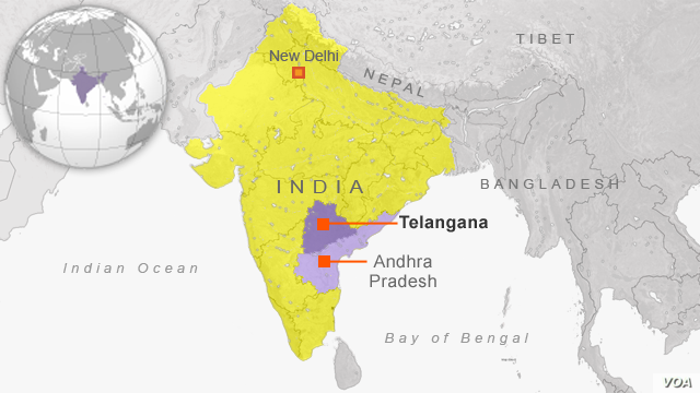 India Has New State Called Telangana | Voice of America