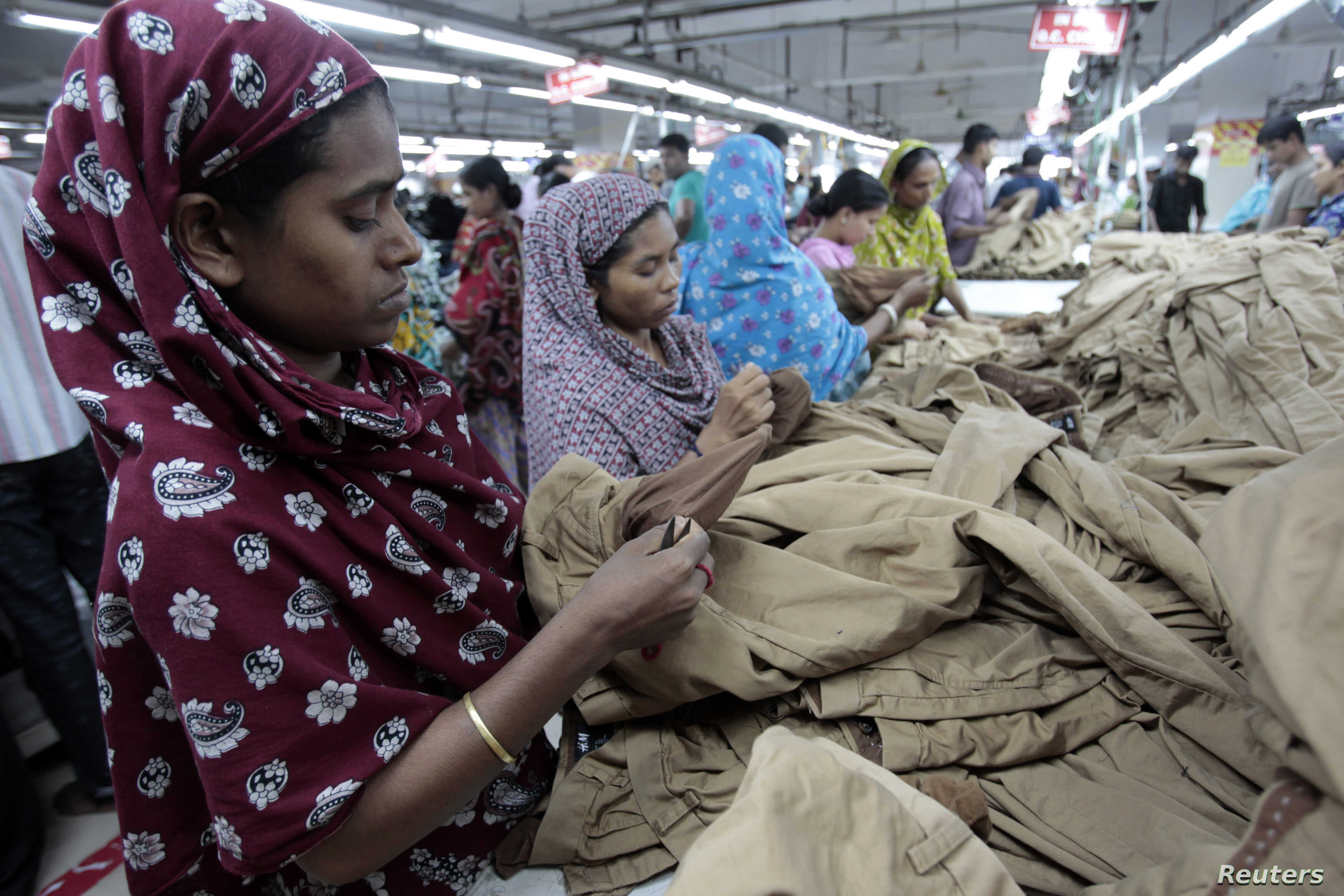 Thriving Bangladesh Garment Industry Under Scrutiny | Voice