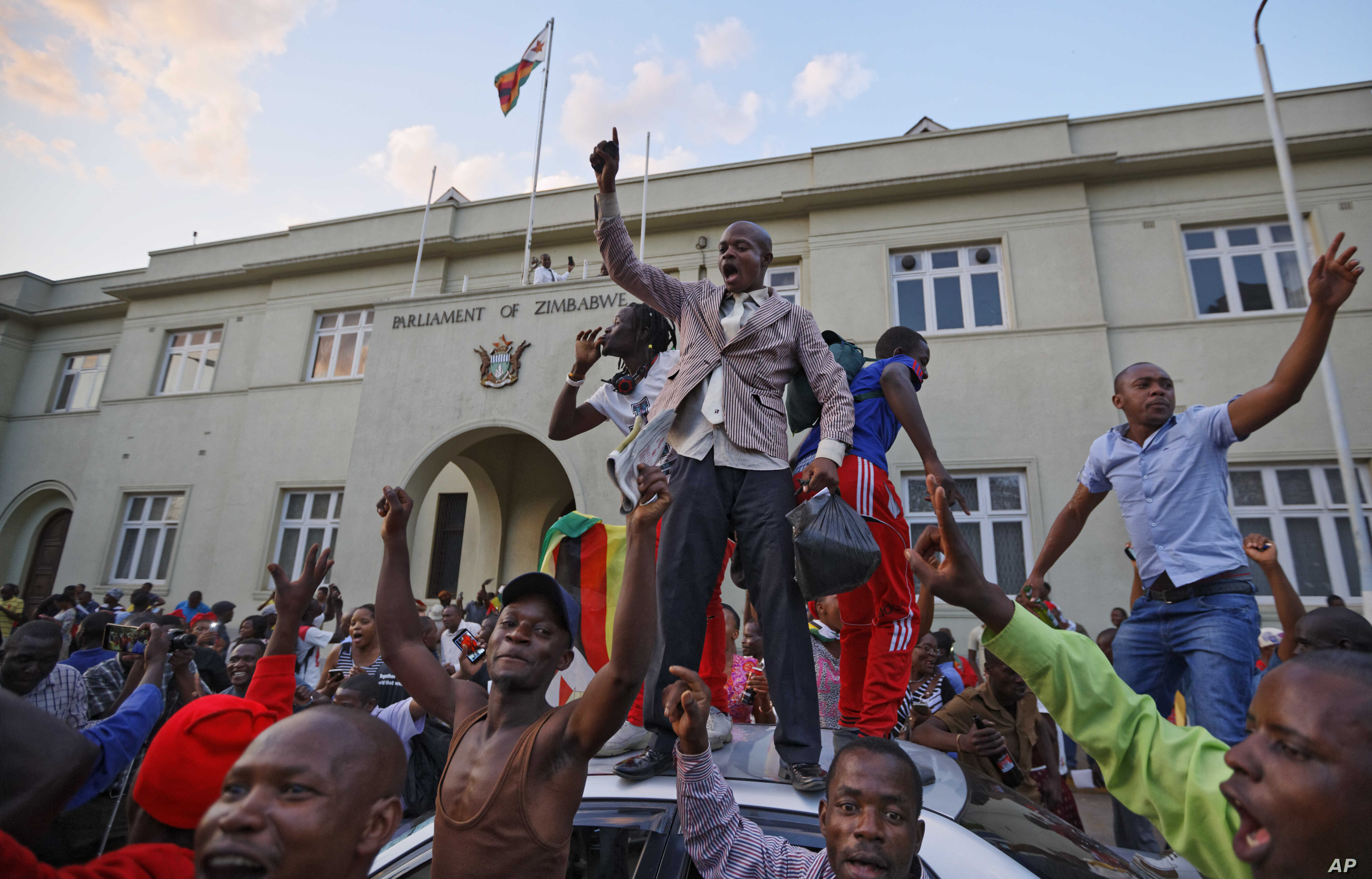 Celebrations in Harare After Mugabe Resigns | Voice of