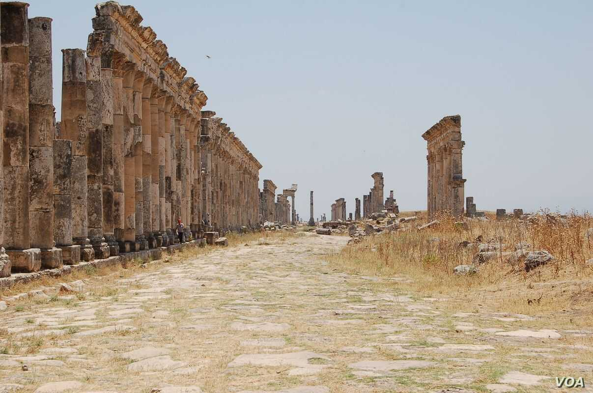 Syria Civil War Threatens Cradle Of World Cultures Voice Of