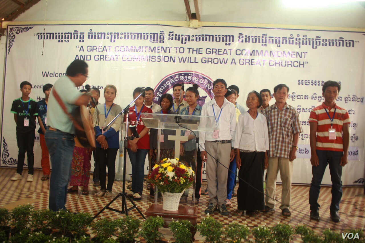 Ex-Khmer Rouge Official Converts to Christianity Guided by