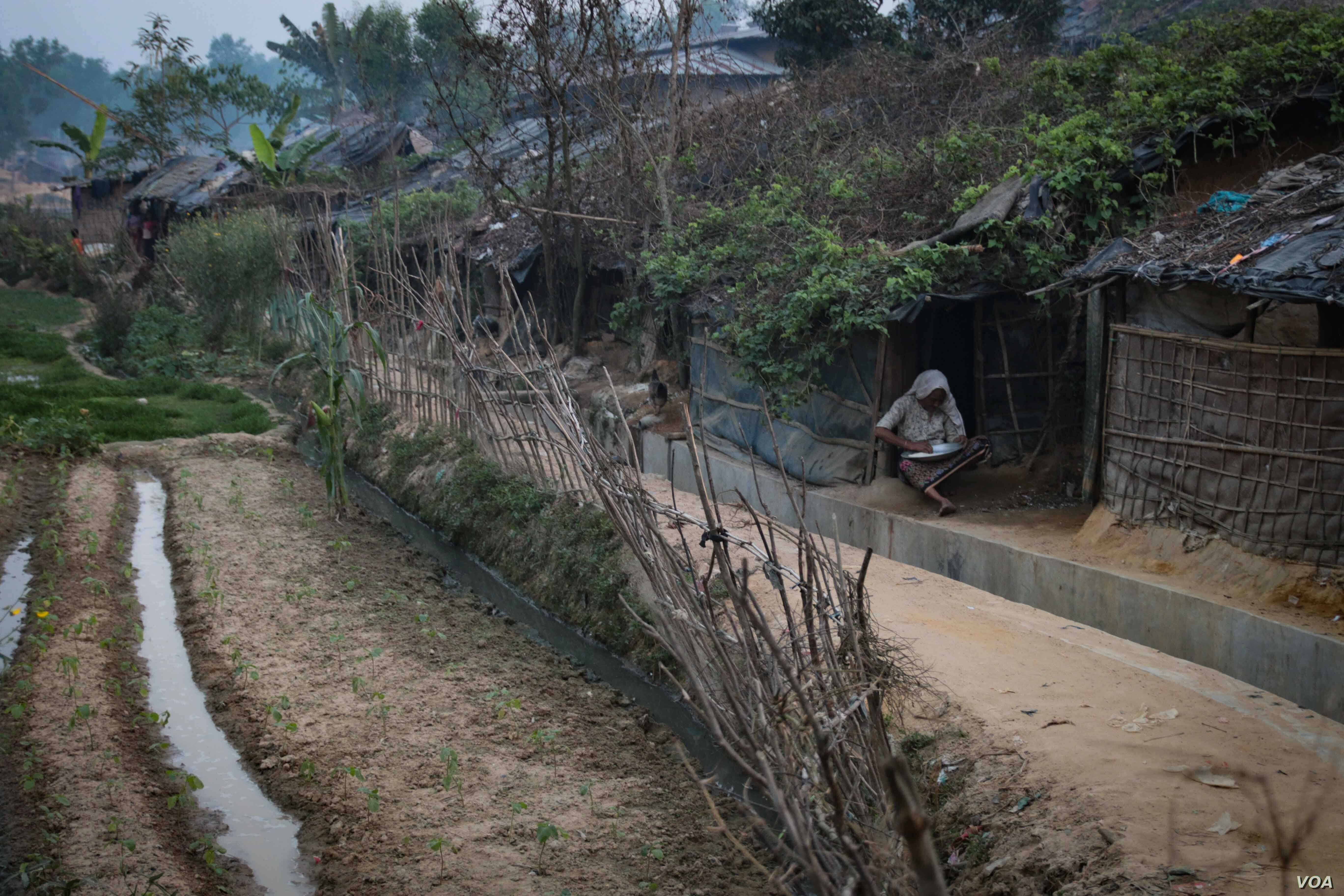 The different parts of Kutapalong camp, in Bangladesh, reflects the ongoing persecution faced by the Rohingya. This part of the camp has been established for many years, while other parts are being newly developed by fresh arrivals.