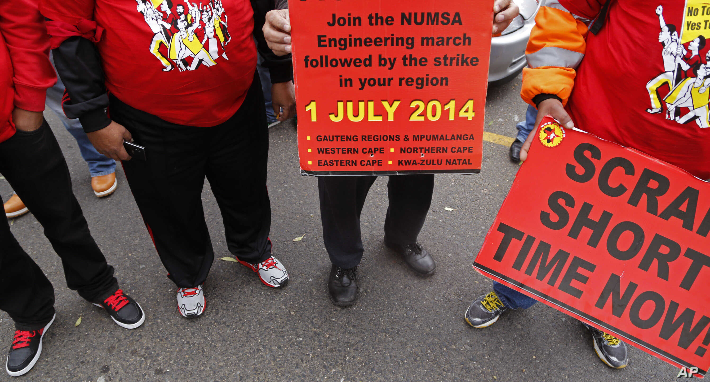 S  African Engineering Strike Latest Blow to Sickly Economy | Voice