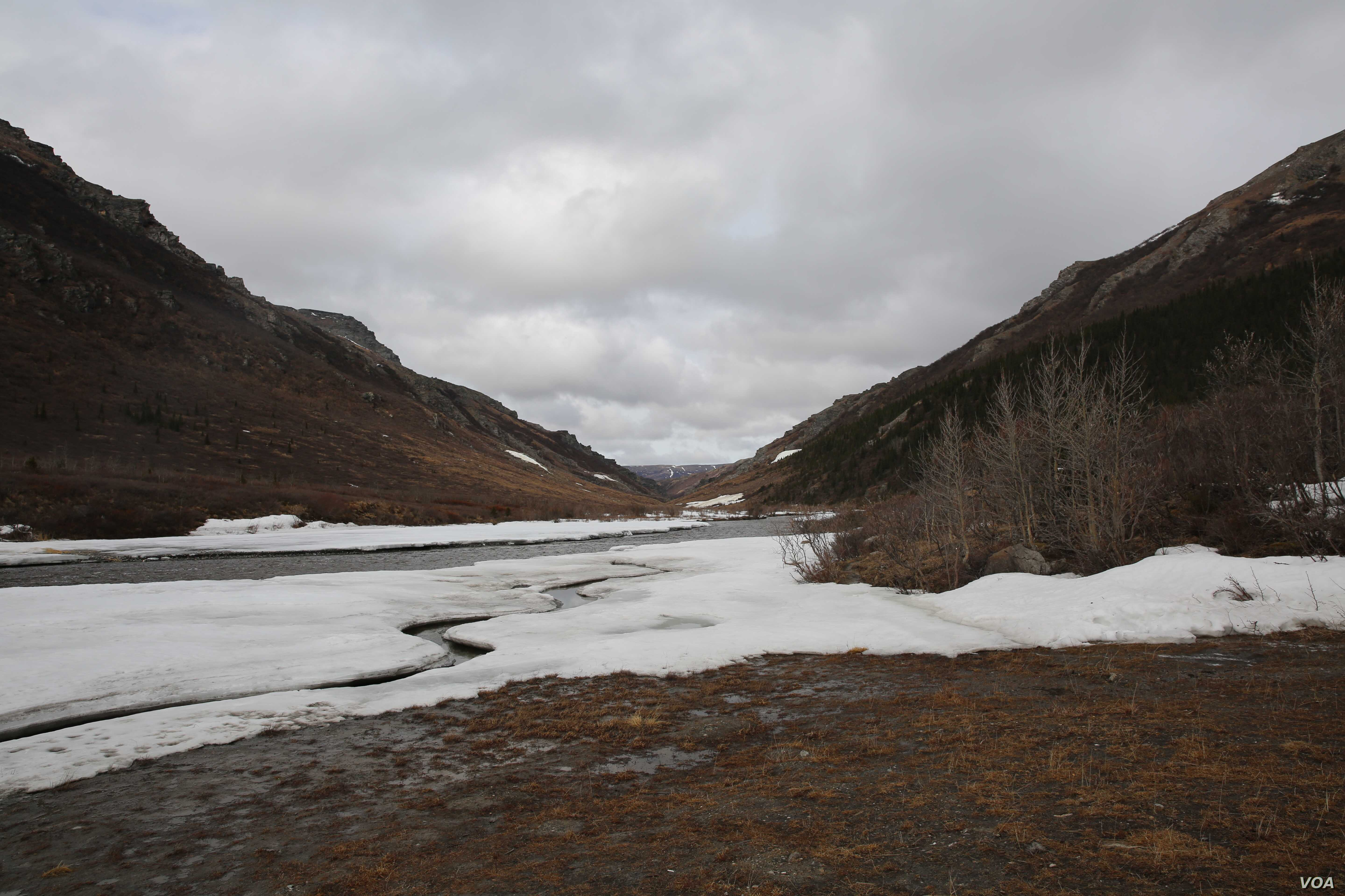 A view of the Braided River in Denali National Park in Alaska, May 10, 2017. The eight-member Arctic Council meets in Fairbanks beginning Thursday, and climate change is high on the agenda for the foreign ministers attending.