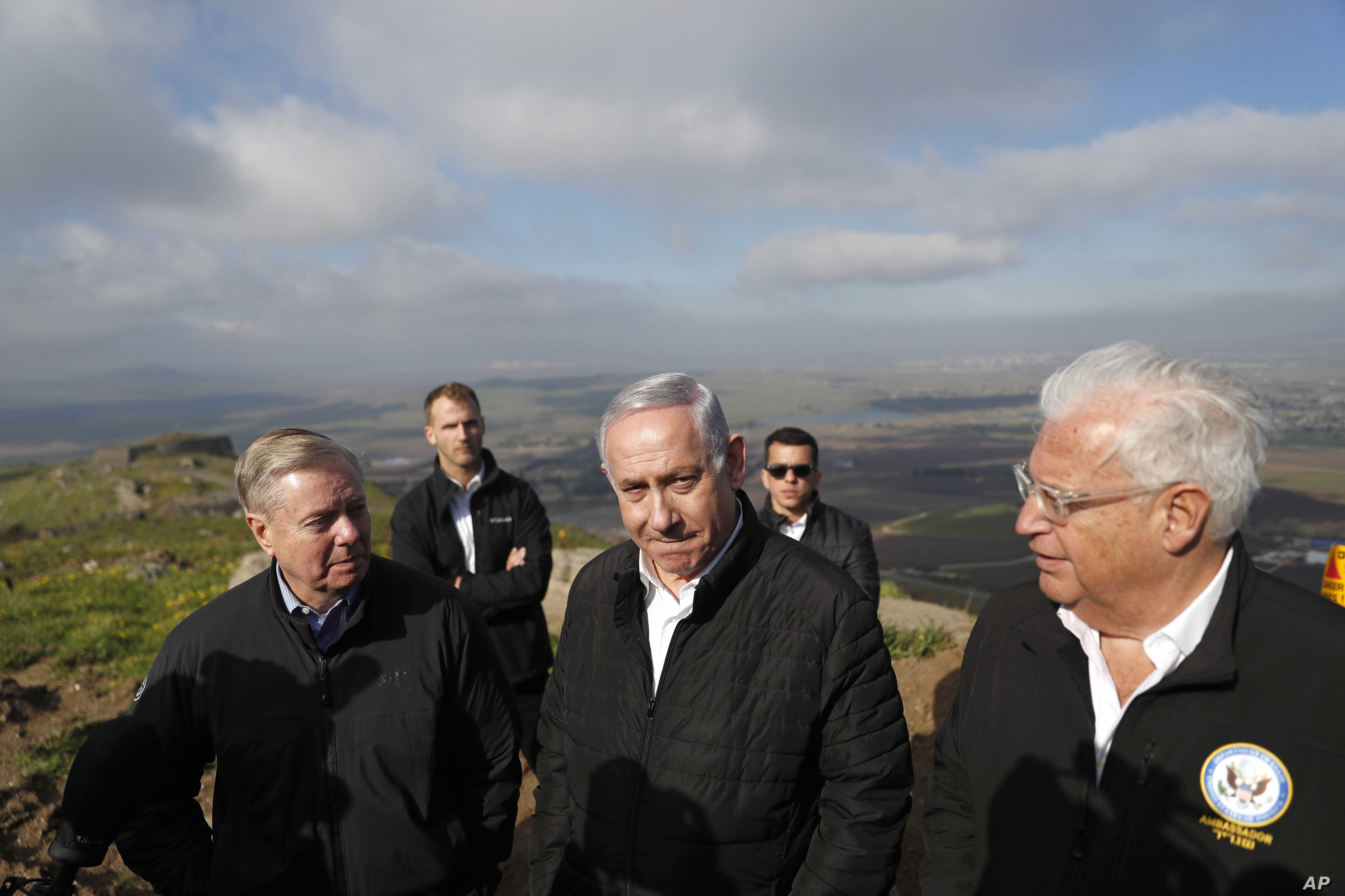 US to Redraw Maps to Show Golan Heights as Israeli Territory