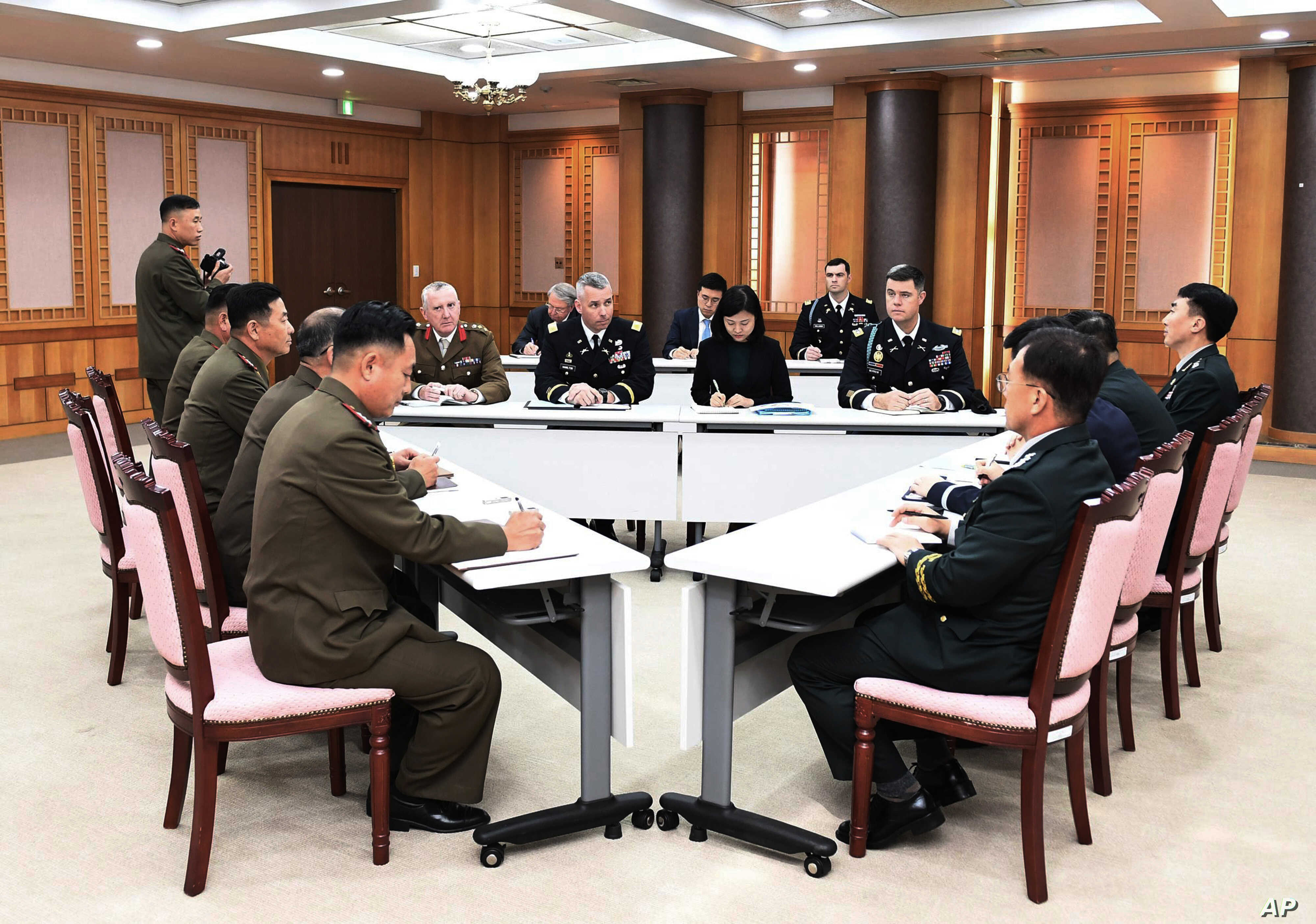 The Koreas and United Nations Command Work Toward Disarming