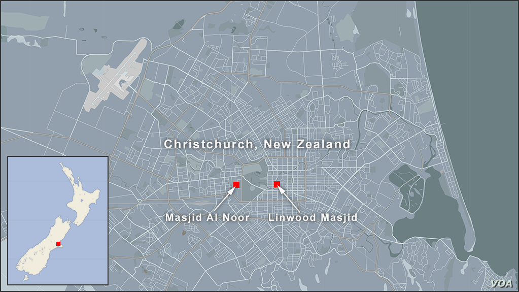 Nearly 50 Killed in New Zealand Mosque Attacks; 4 in Custody ...
