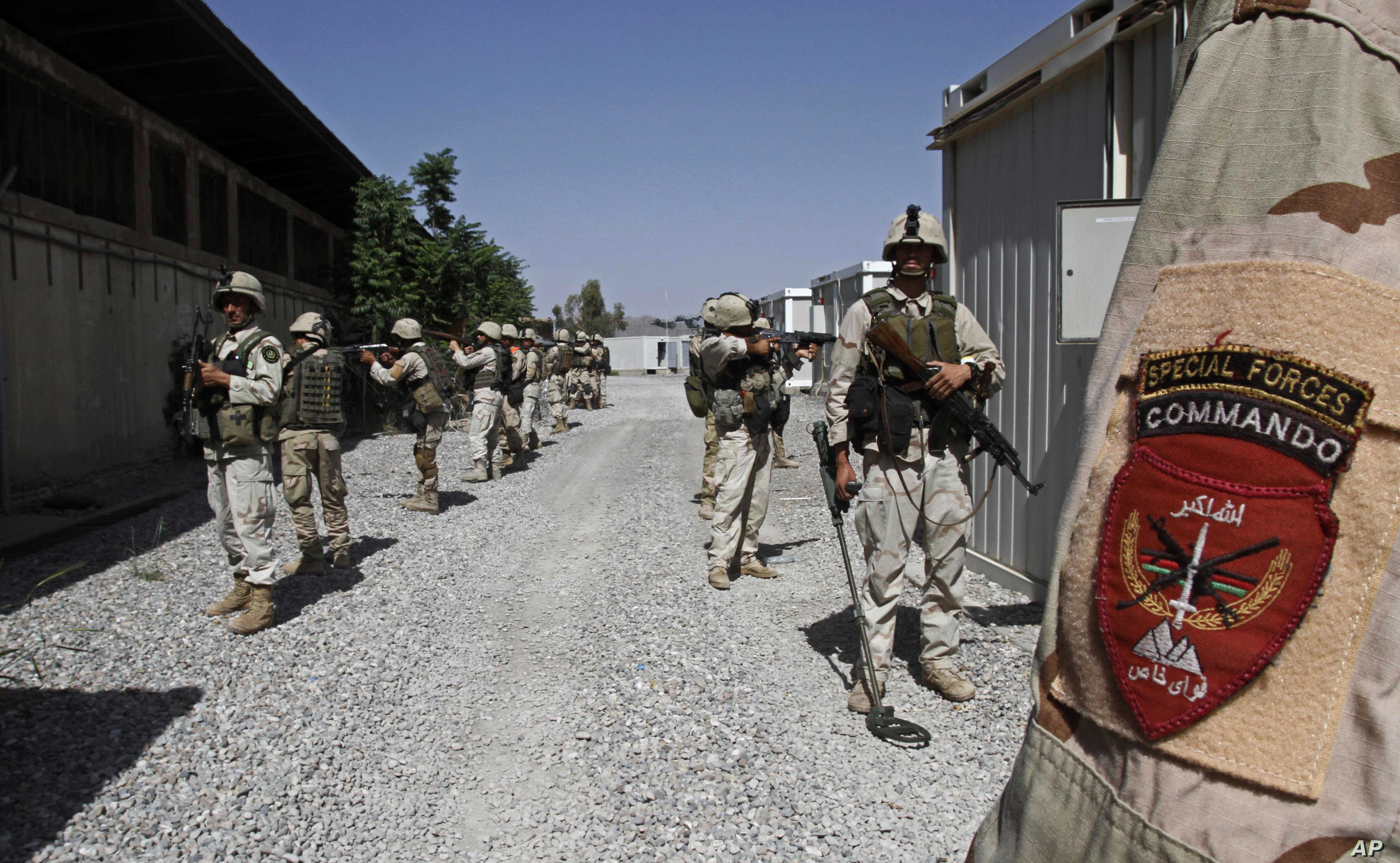 Afghanistan Plans to Double Special Op Forces, Use Drones