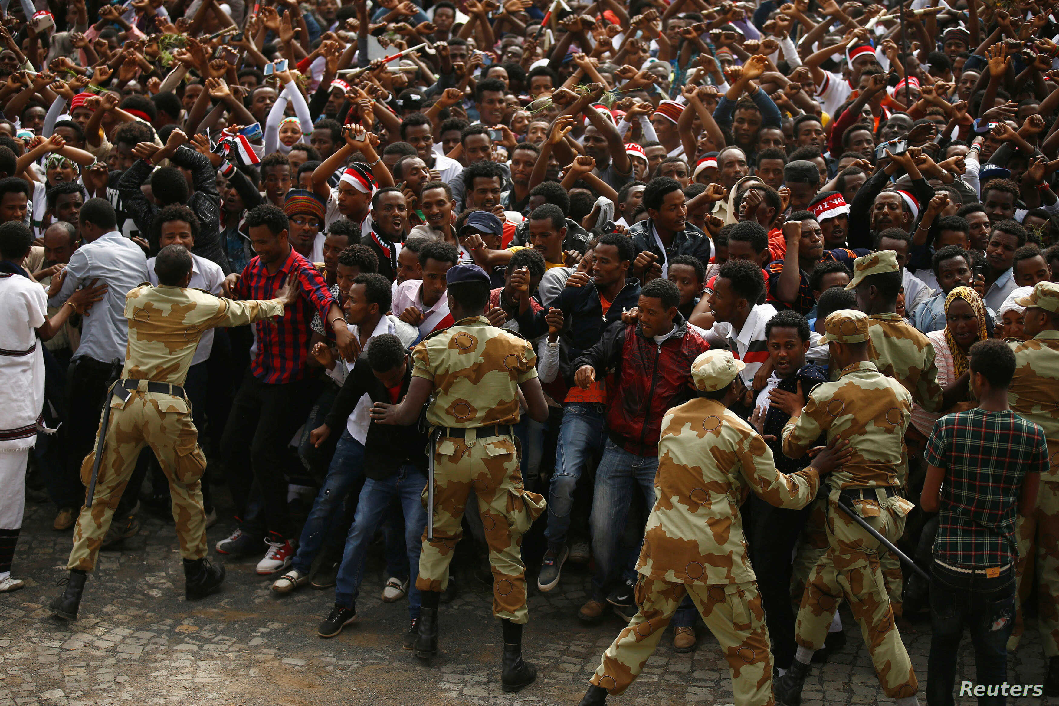 HRW Urges Ethiopian Government to Exercise Restraint at
