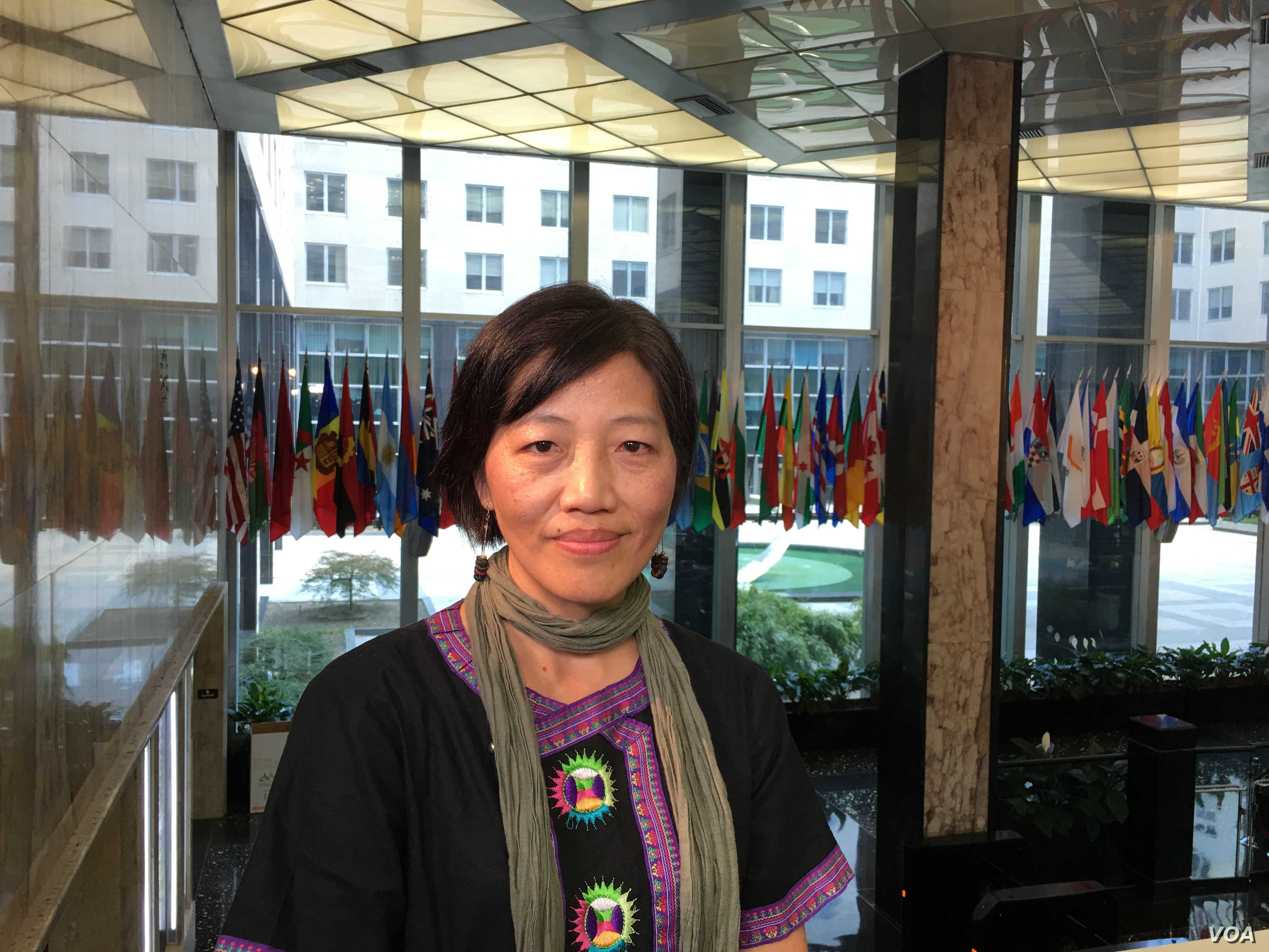 Allison Lee, the co-founder of the Yilan Migrant Fishermen Union, was recognized by the United States for safeguarding the rights of foreign fishermen working in Taiwan.