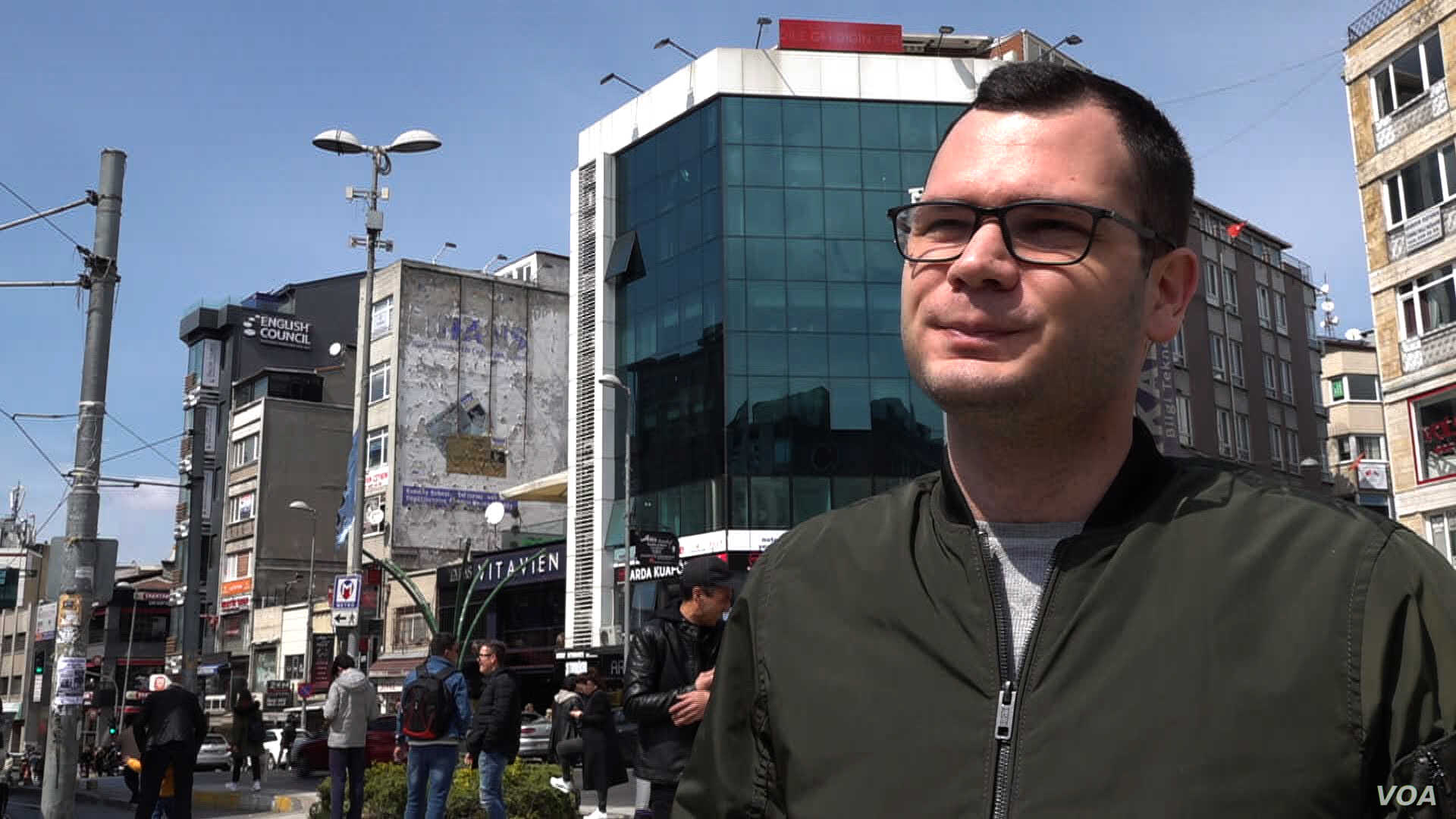 Emir, an airline worker living in Istanbul's Kadikoy district, claims the opposition CHP victory was a surprise, but offers a new future for the country.