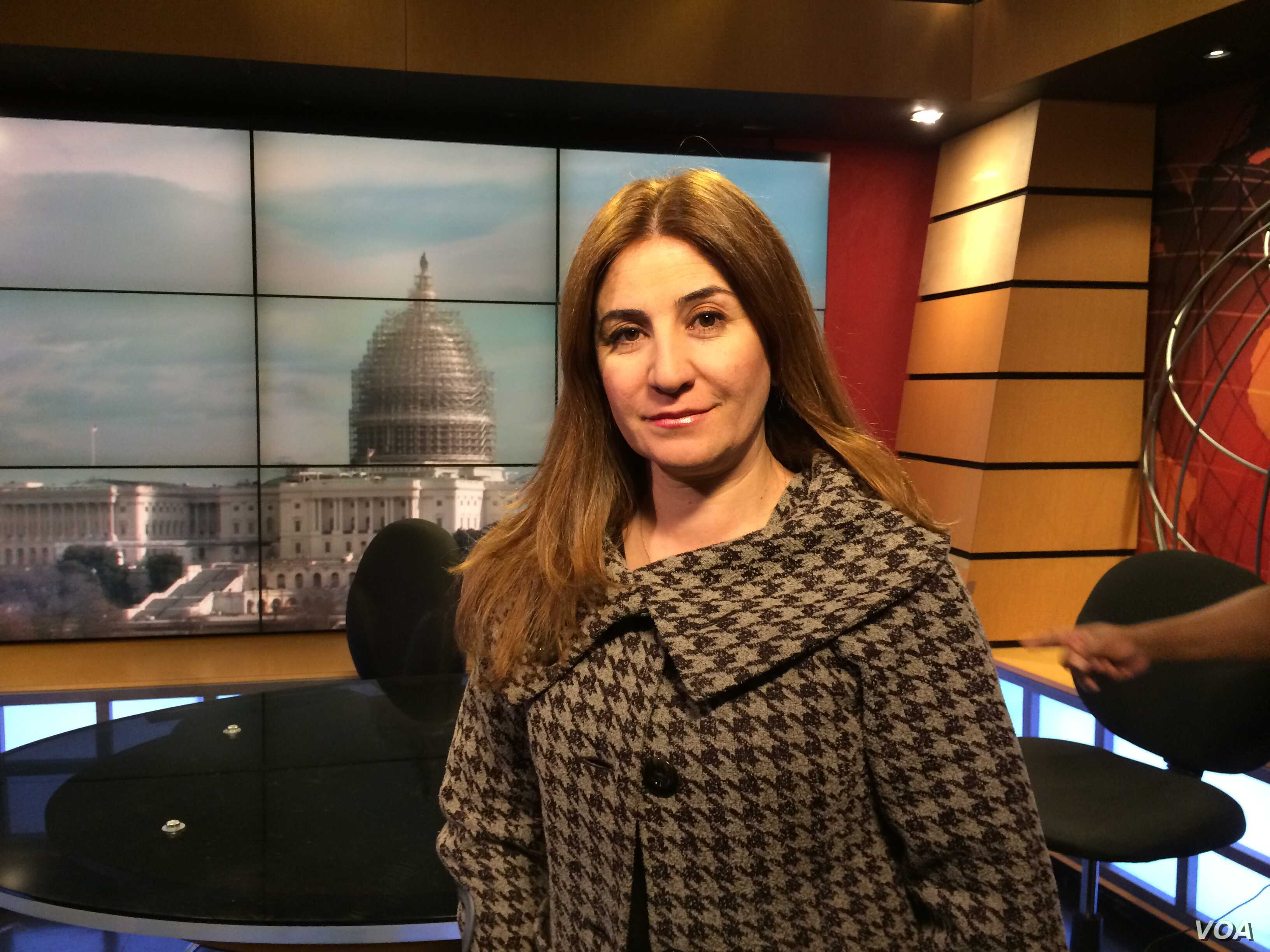Vian Dakhil is the only Yazidi member of the Iraqi Parliament. She has been working to help tens of thousands of other Yazidis who are trapped in areas overrun by the Islamic State militants or who have fled the militants.  She has been in Washington...