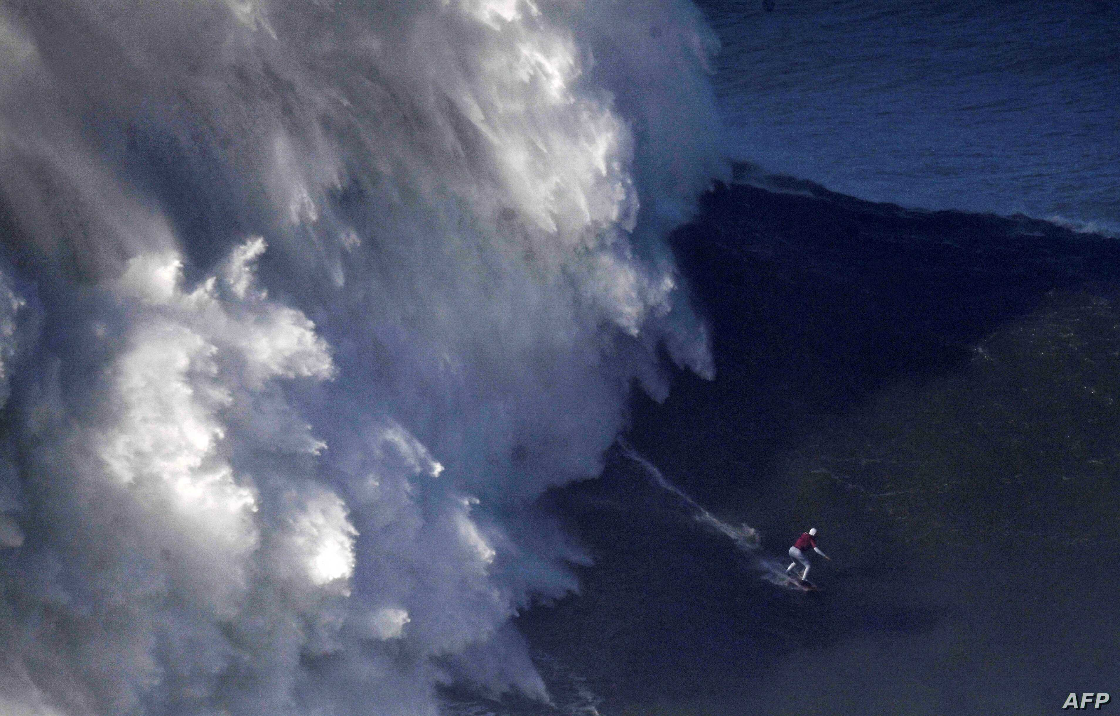 Brazilian Woman Sets Record Surfing Biggest Wave Voice Of