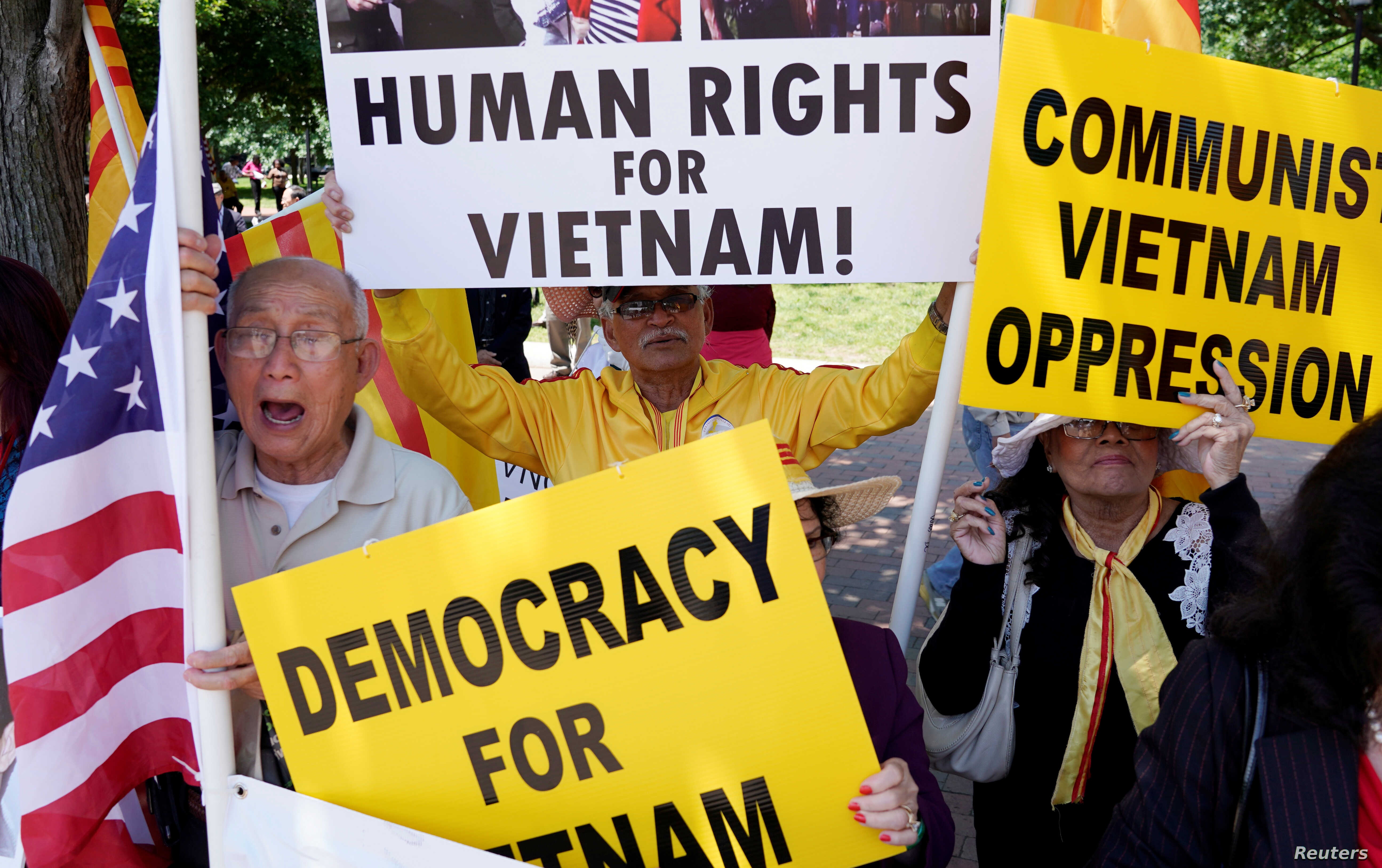 Vietnam's Crackdown on Political Dissent Described as Boon for