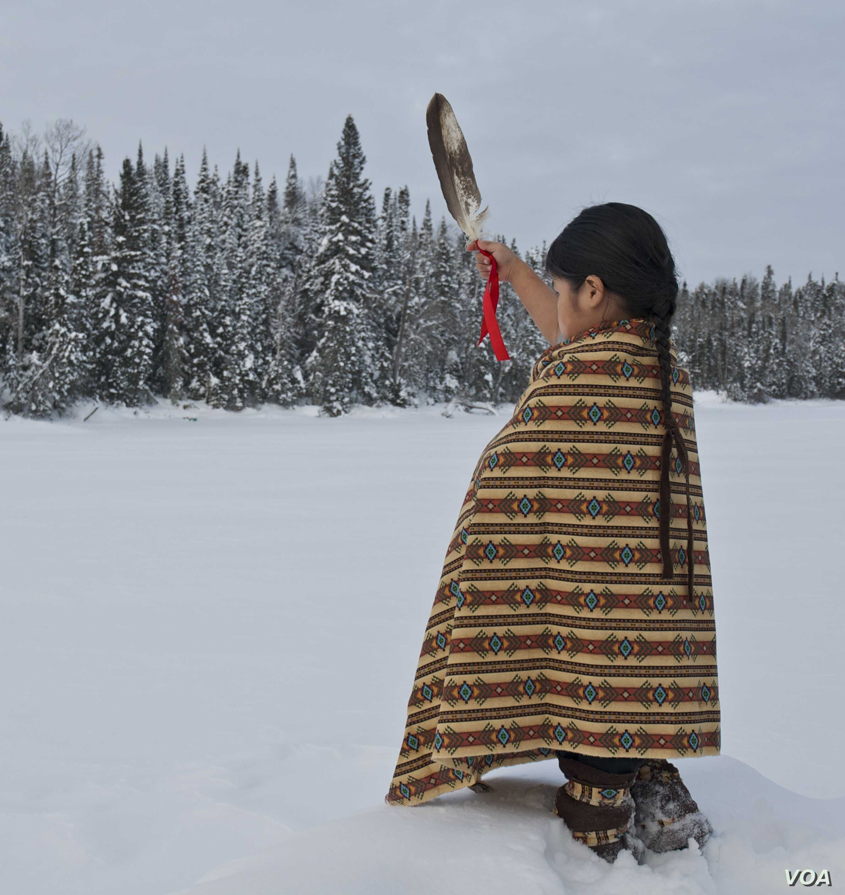 Native Americans, Canada's First Peoples, Fight to Keep Long Hair