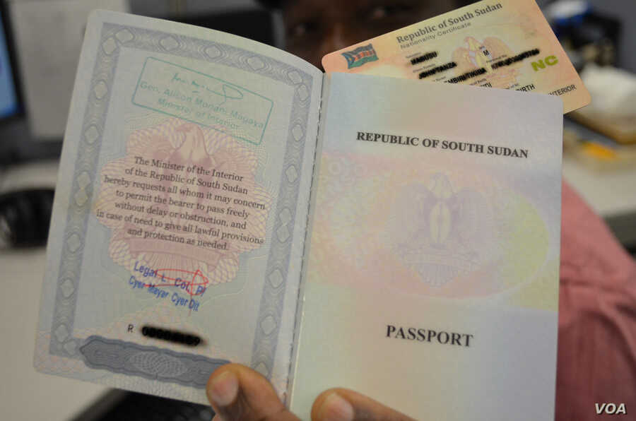 S  Sudan Issues Costly Passport for Businesspeople | Voice