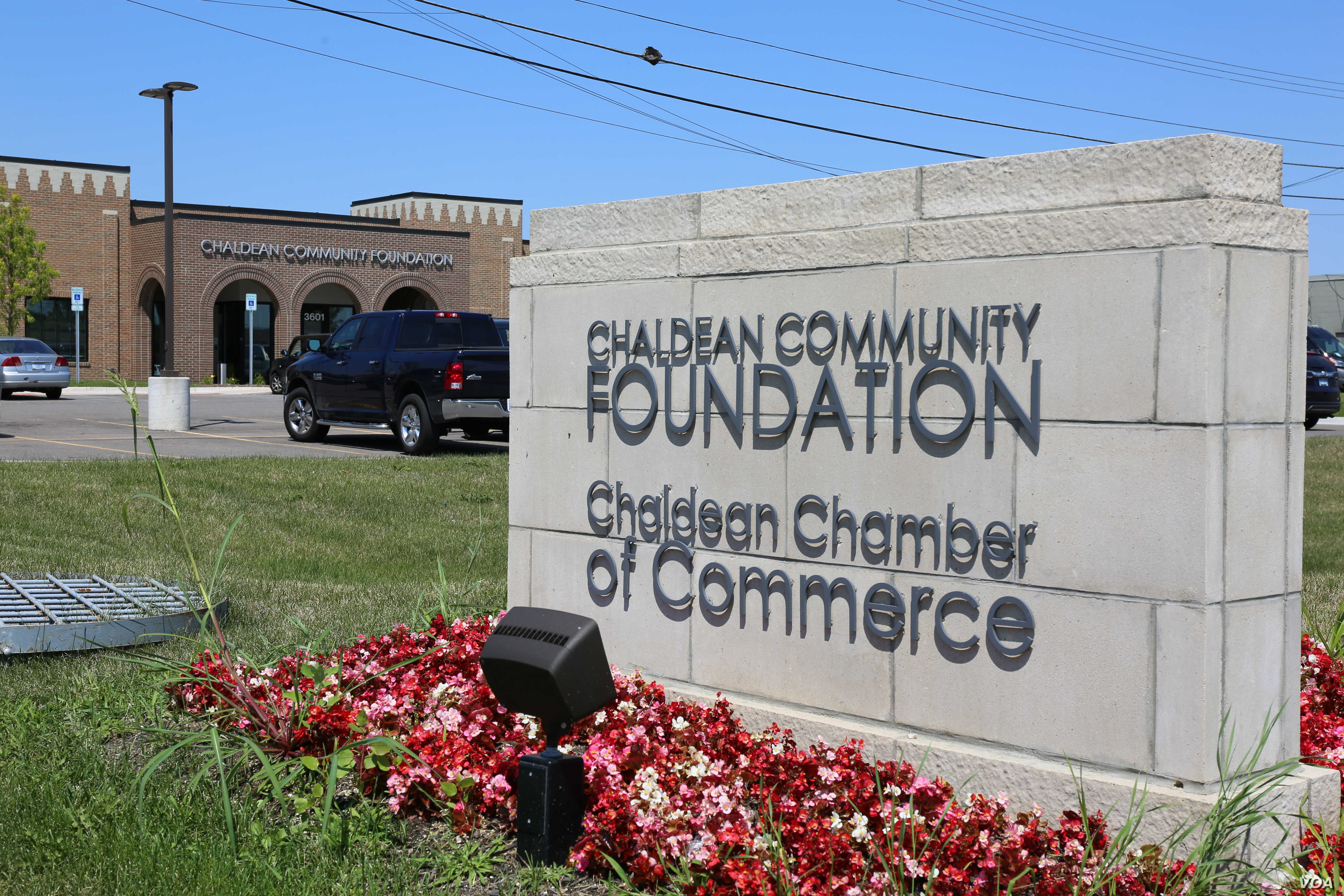 "The Chaldean Community Foundation serves Chaldean-Americans, but advocates say ""everyone is welcome"" in the center, in Sterling Heights, Michigan, July 31, 2017. Chaldeans in Sterling Heights represents the largest concentration of the religious ..."