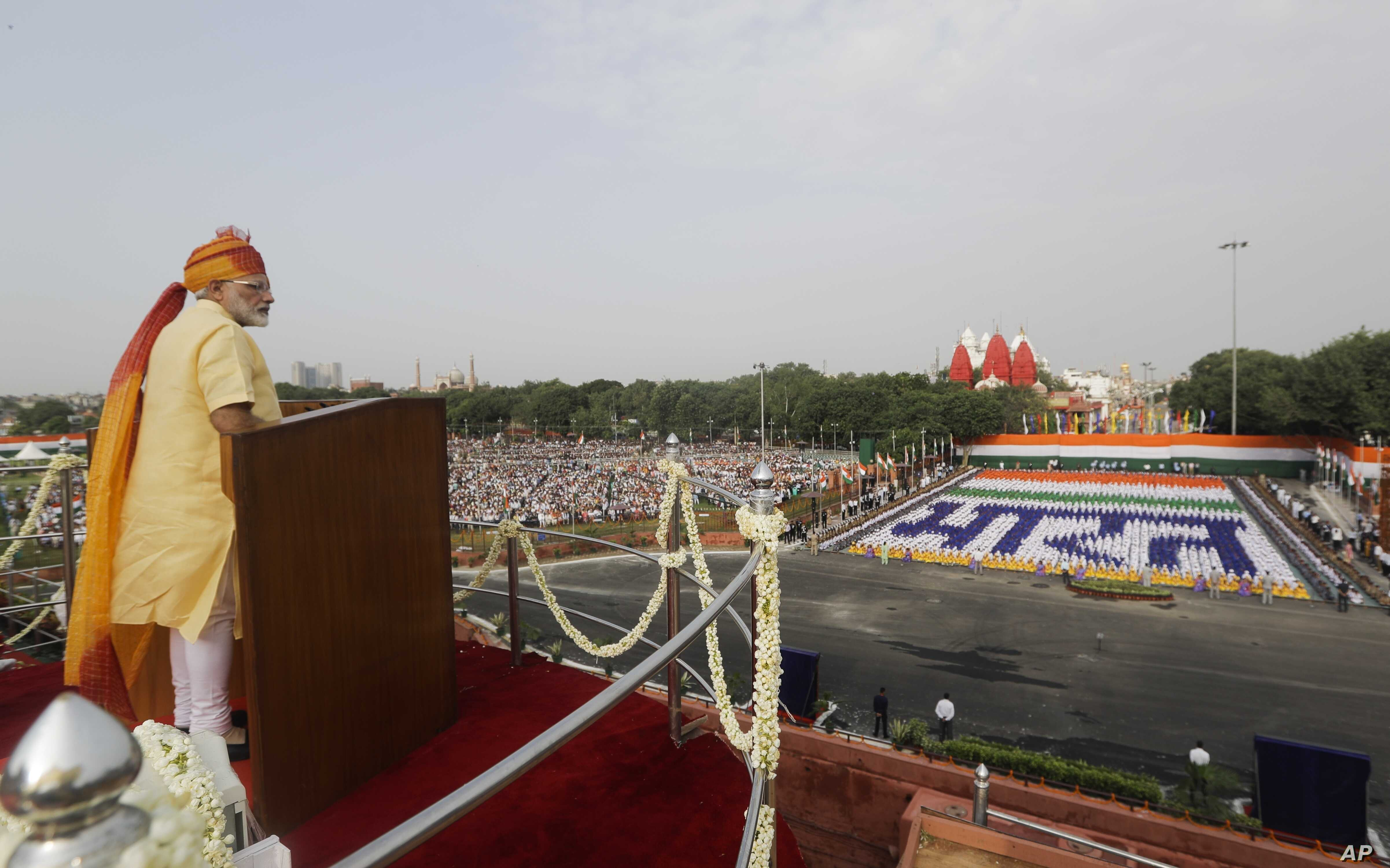 Modi Highlights India's Achievements in Independence Day