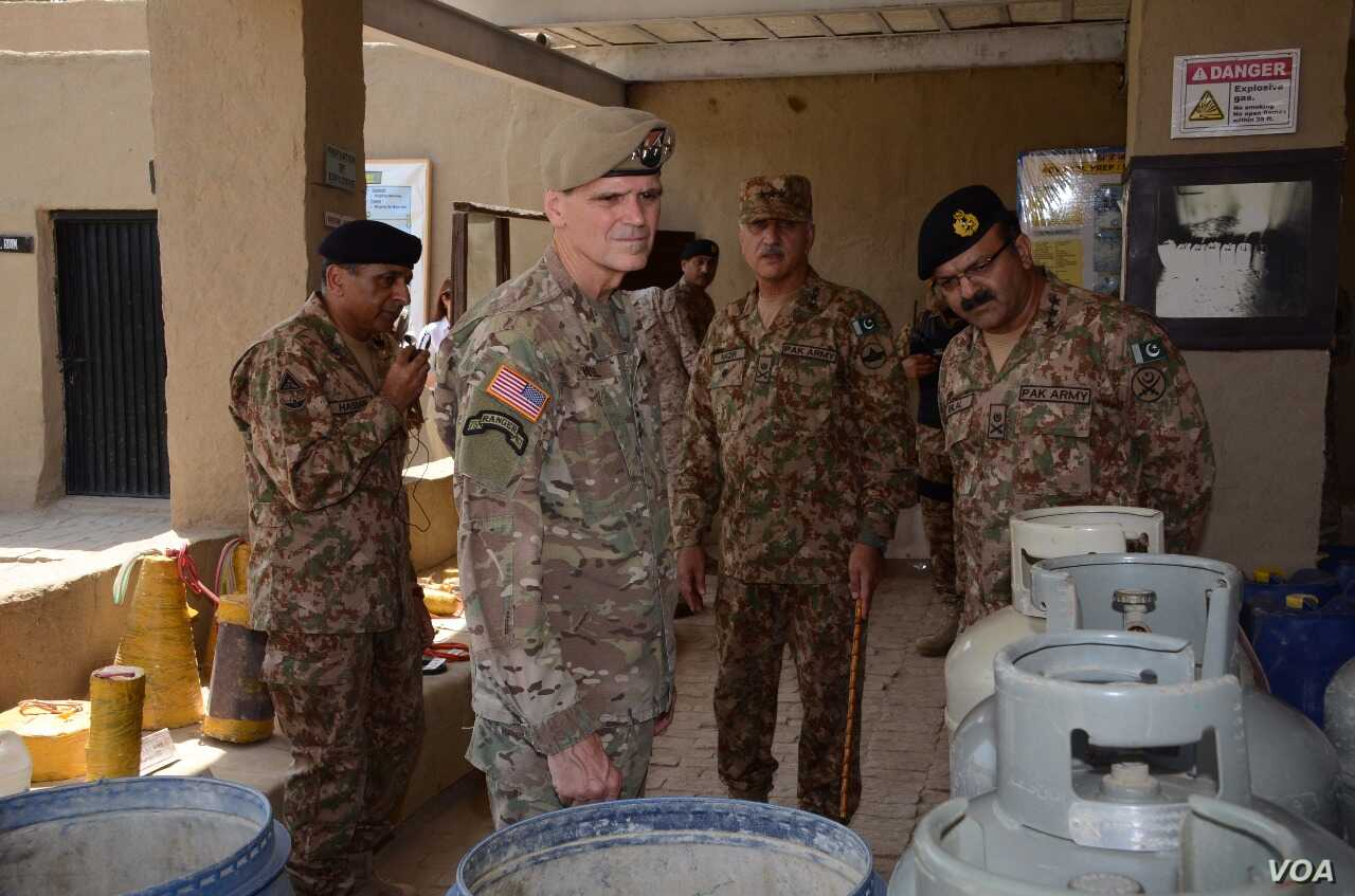 US CENTCOM Chief Gen. Joseph Votel visits North Waziristan, Pakistan, Aug. 19, 2017.