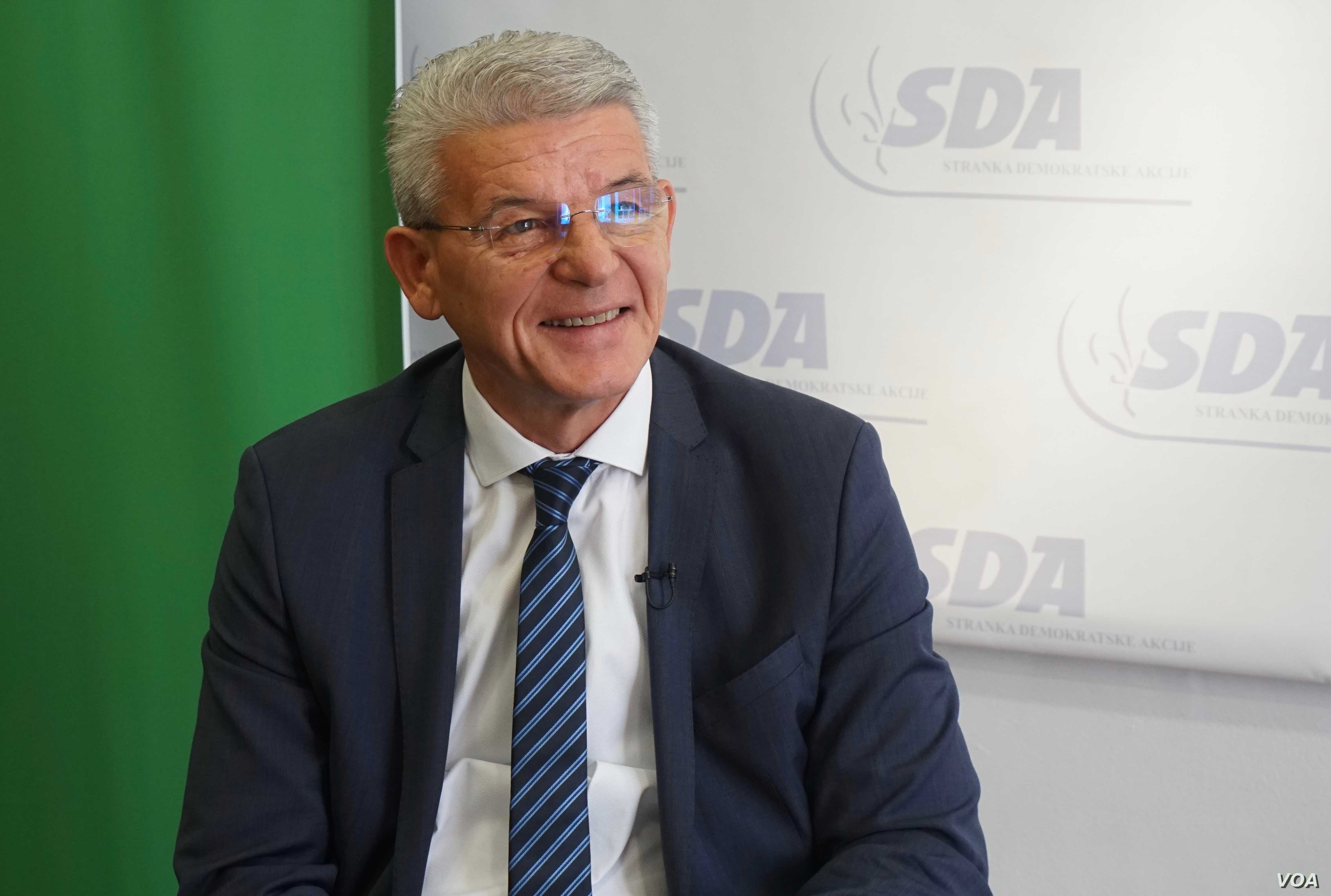 "Šefik Džaferović, a leading Bosniak candidate for the presidency of Bosnia and Herzegovina, says ""Russia does not support our path towards the NATO alliance…and this is a problem in relations."""