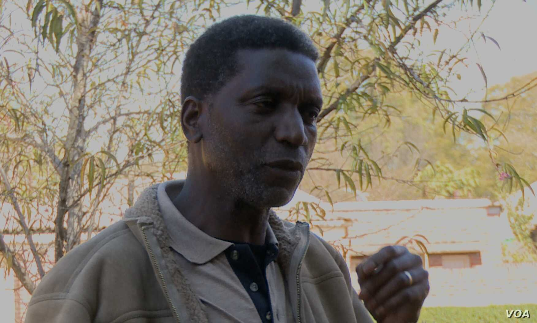 Political analyst Rejoice Ngwenya speaking to VOA in Harare, Zimbabwe, July 11, 2018.