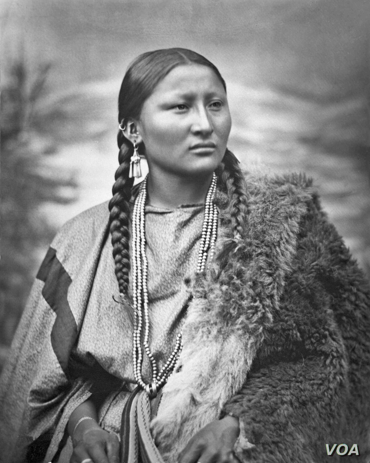 This photo by L.A. Huffman shows Pretty Nose, an Arapaho war chief believed to have fought in the Battle at Little Big Horn in which General George Armstrong was killed, just two years before this 1878 photo was taken at Fort Keogh, Montana.