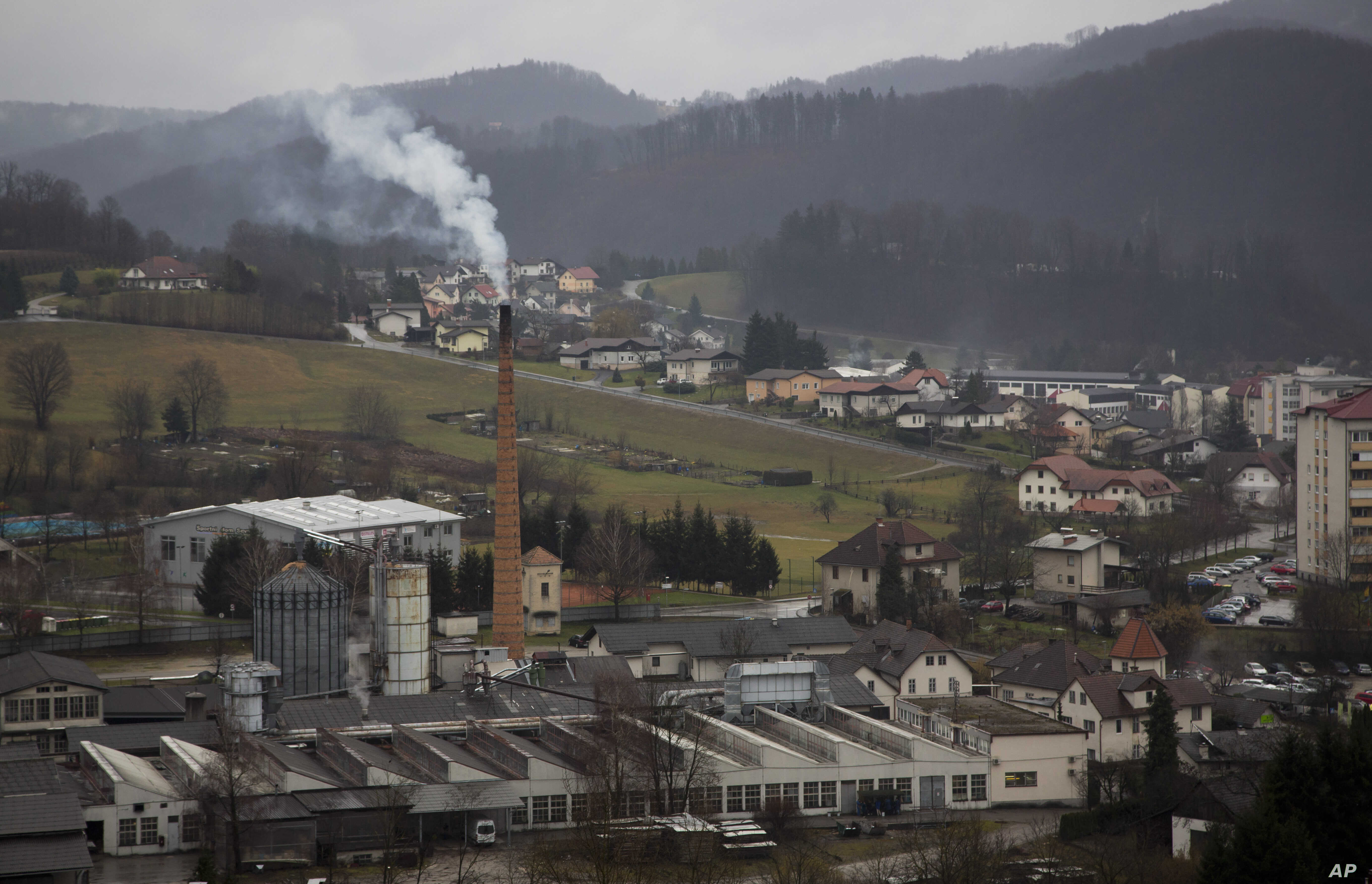 Melanija Knavs, now known as Melania Trump, was born and raised in the town of Sevnica, Slovenia, seen here Feb. 15, 2016.