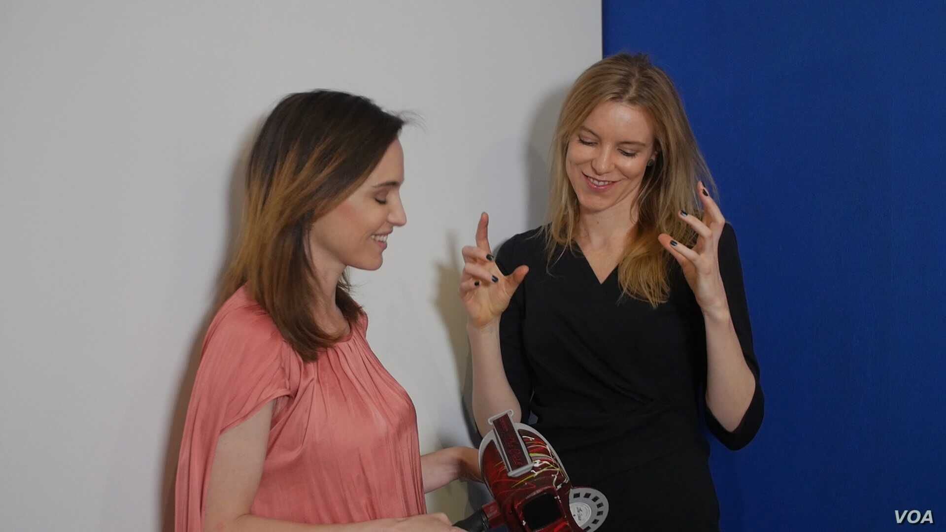 Toybox co-founders Arlene Mulder and Kanina Foss say their tech innovation project aims to link Africa's rich talents in art and innovation with the growing need for innovative technology in the developing world.