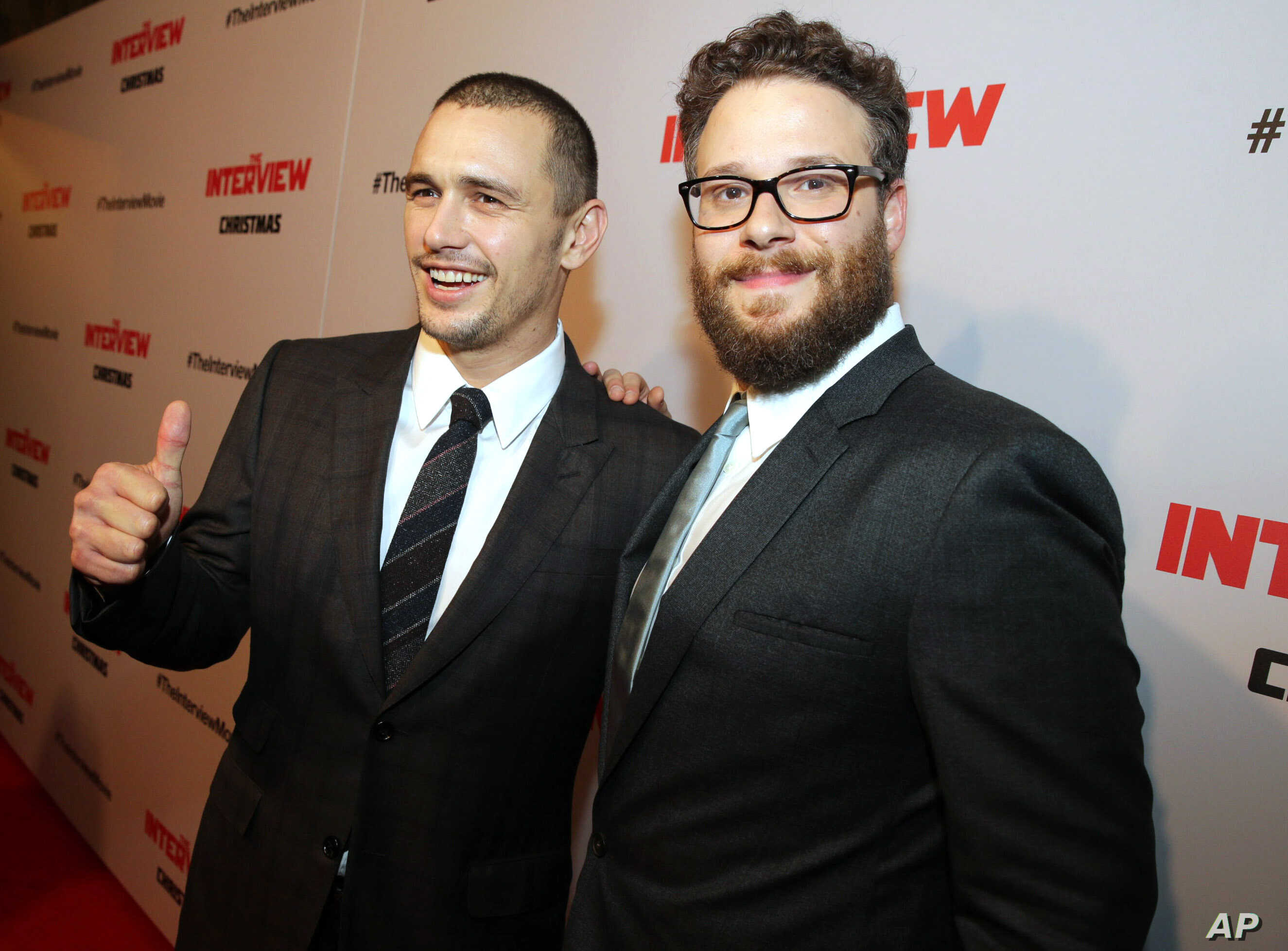 """Columbia Pictures World Premiere of """"The Interview"""""""